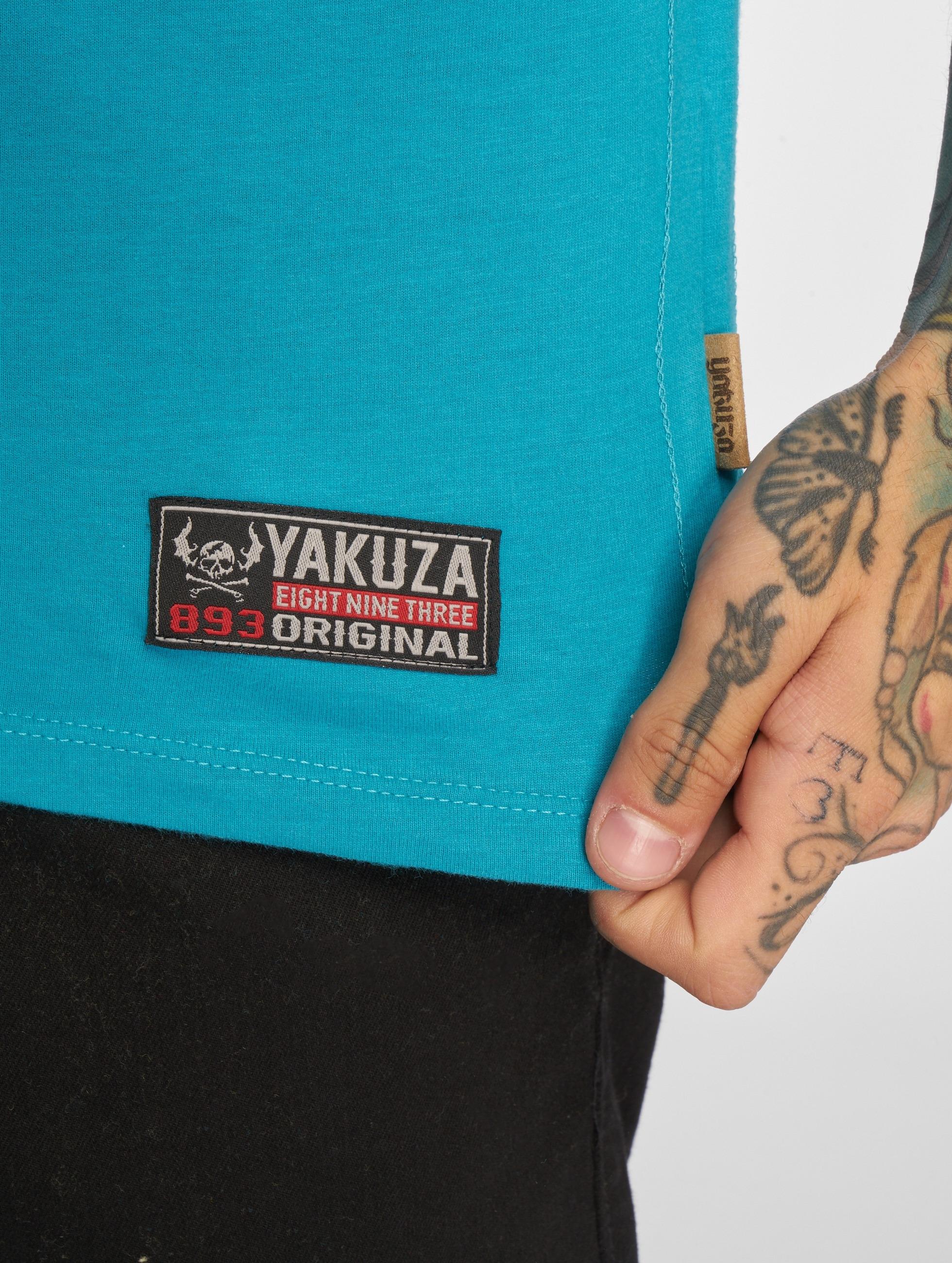 Yakuza T-shirt 893 Union blu