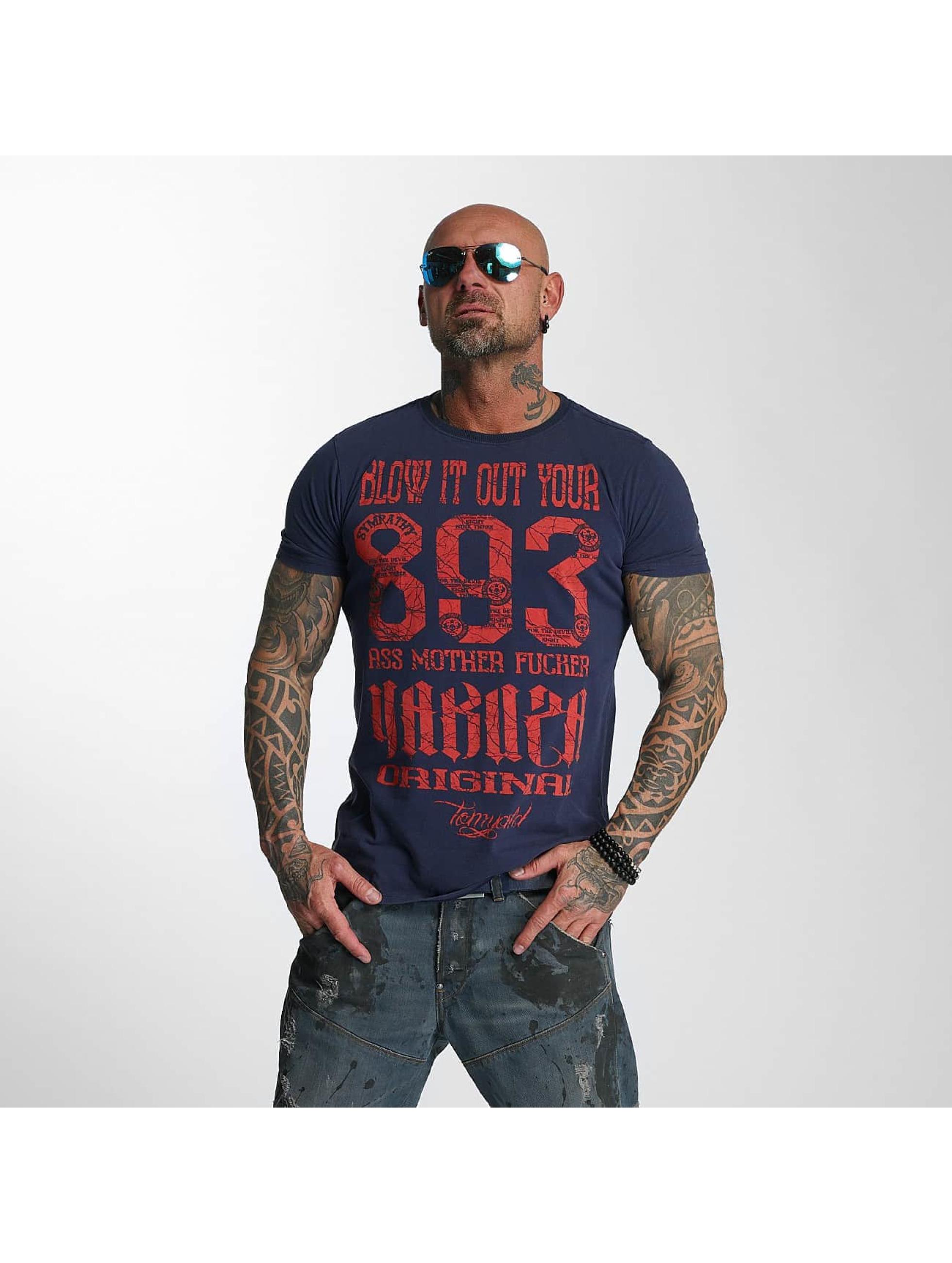 Yakuza T-Shirt Blow It Out blue