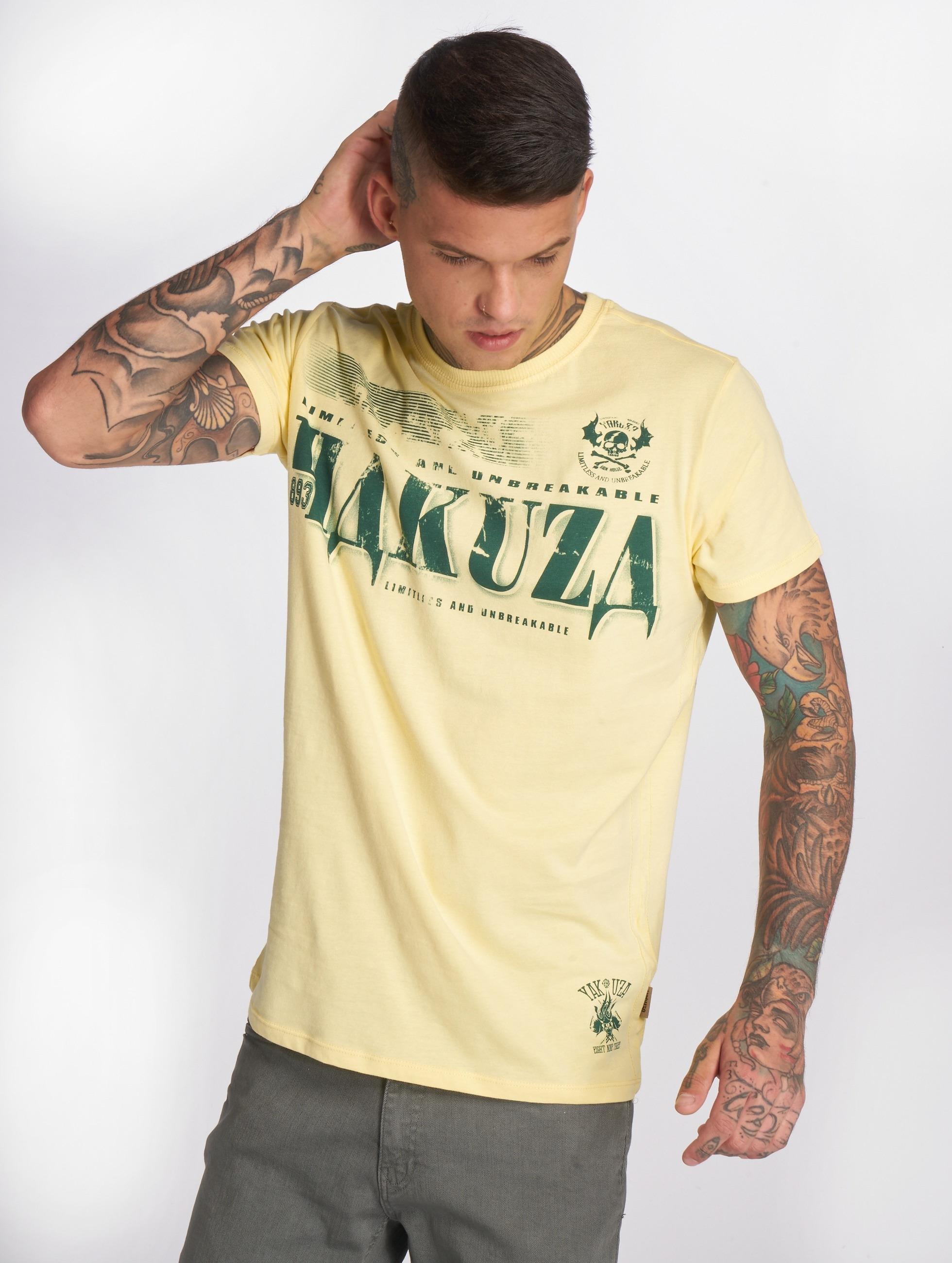 Yakuza T-Shirt OK! gelb