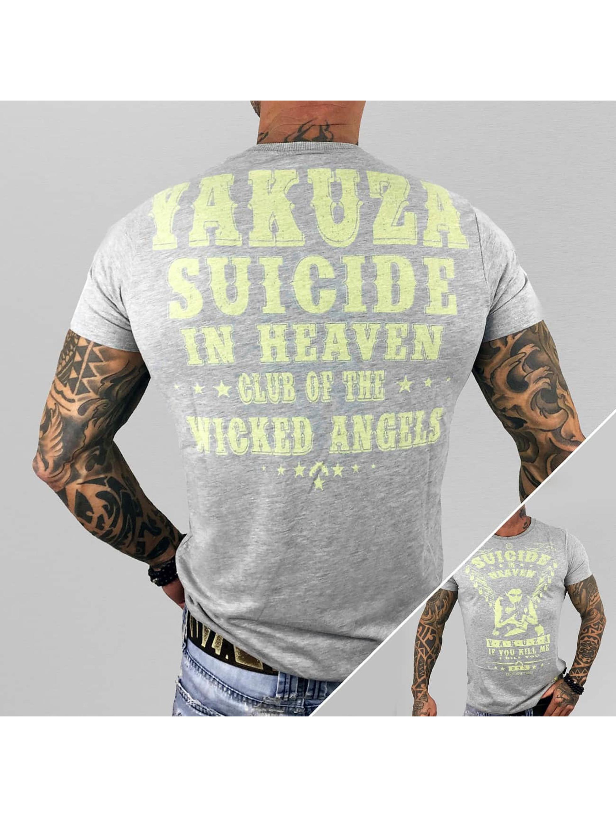 Yakuza T-Shirt Suicide In Heaven grau