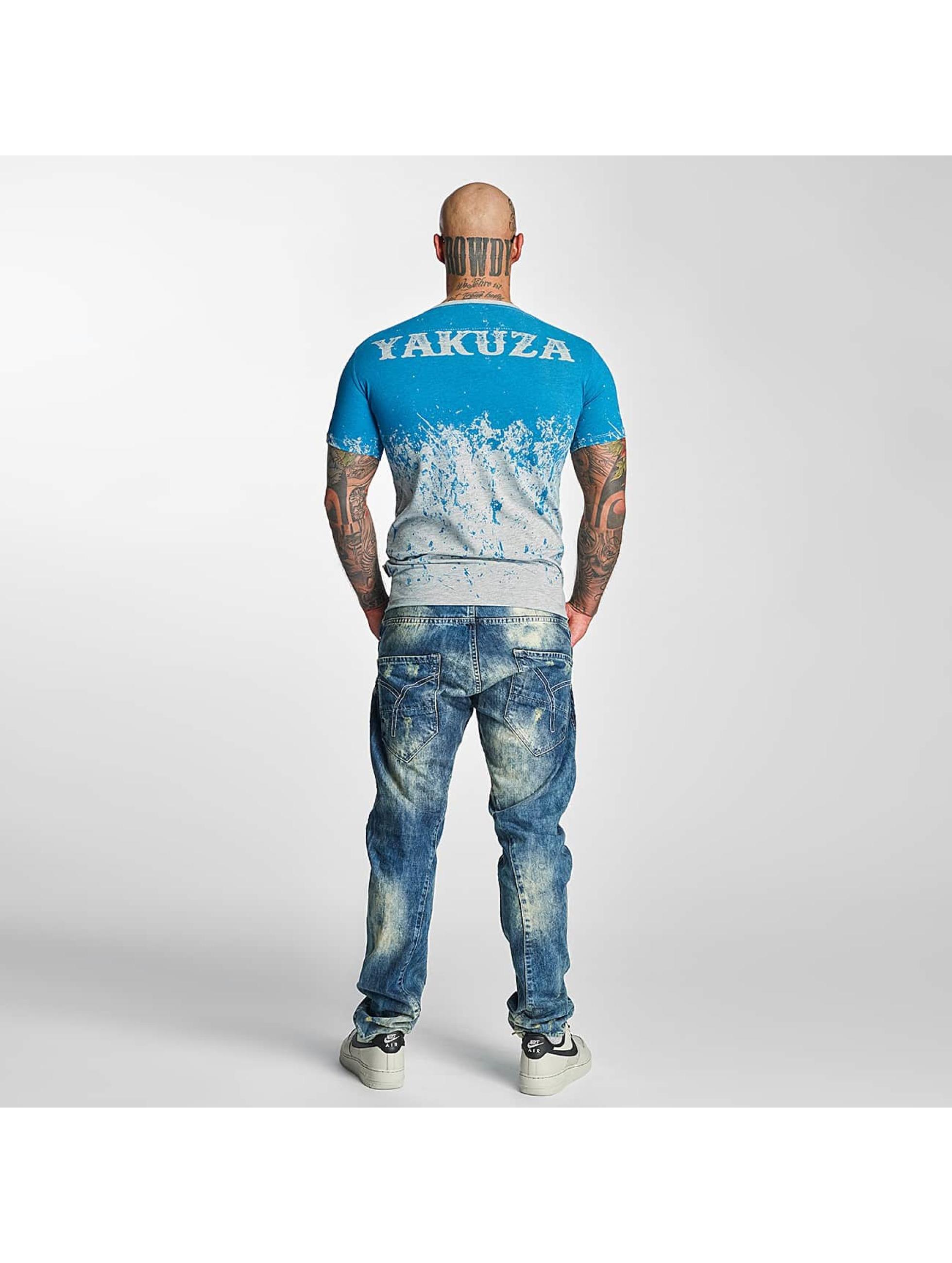 Yakuza T-Shirt Splatter grau