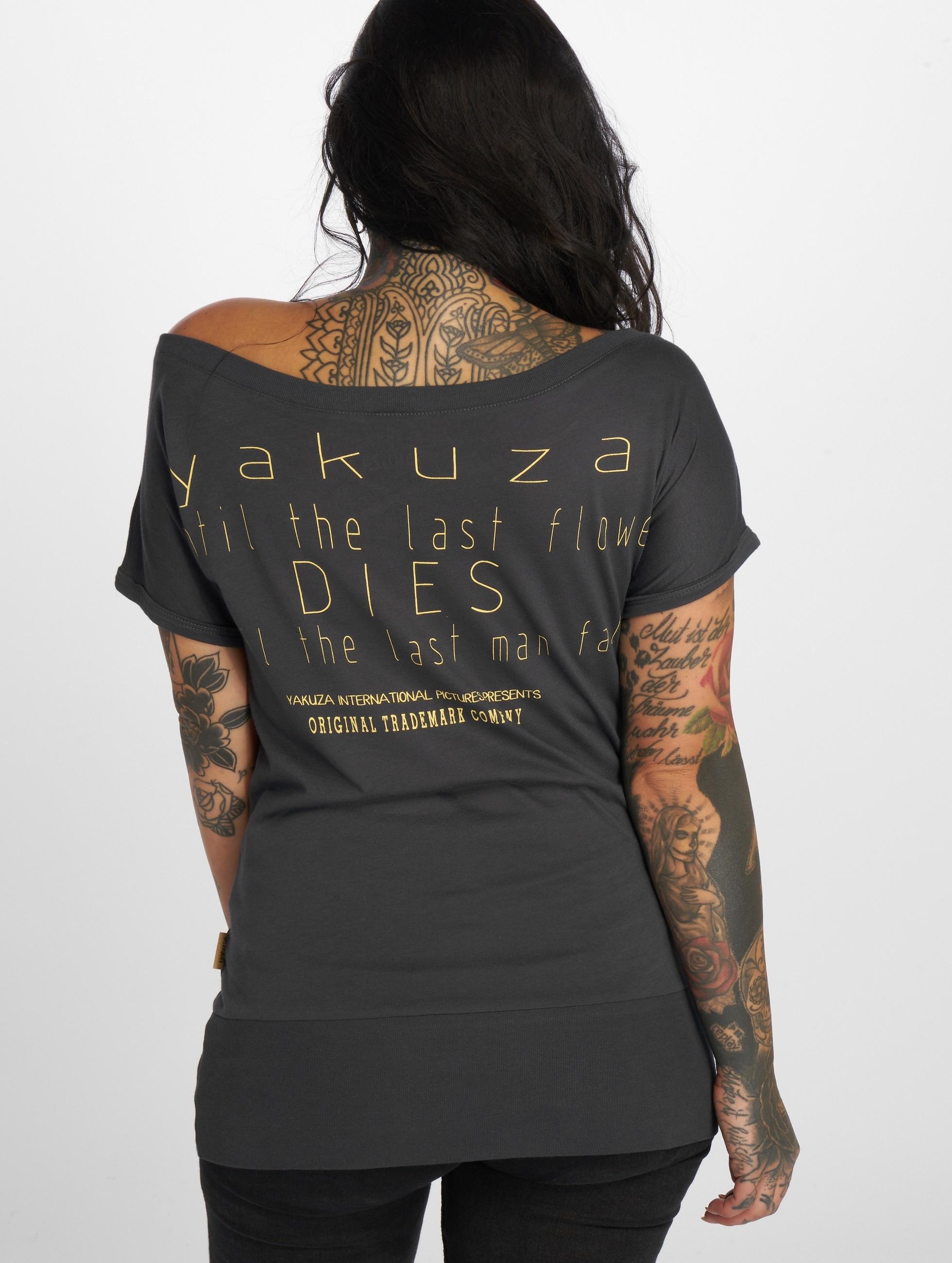 Yakuza T-Shirt Respirator grau