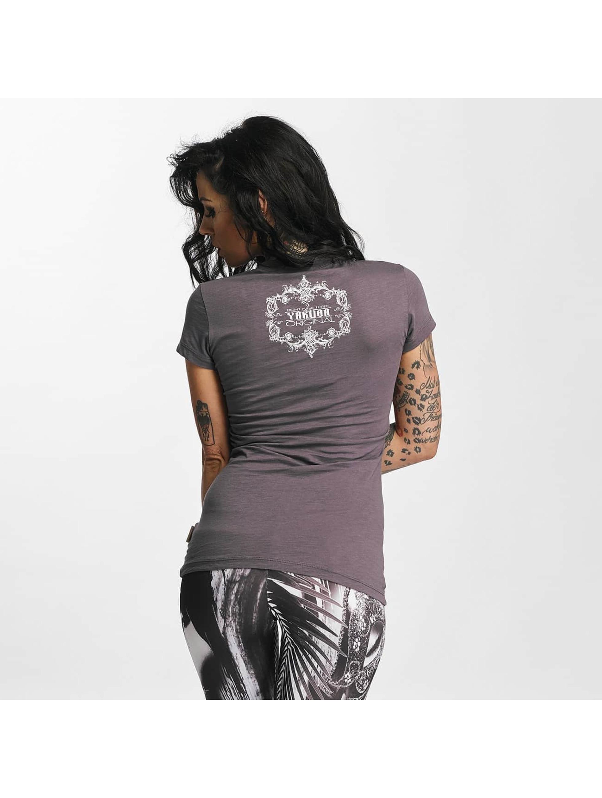 Yakuza T-Shirt Taste The Blood grau