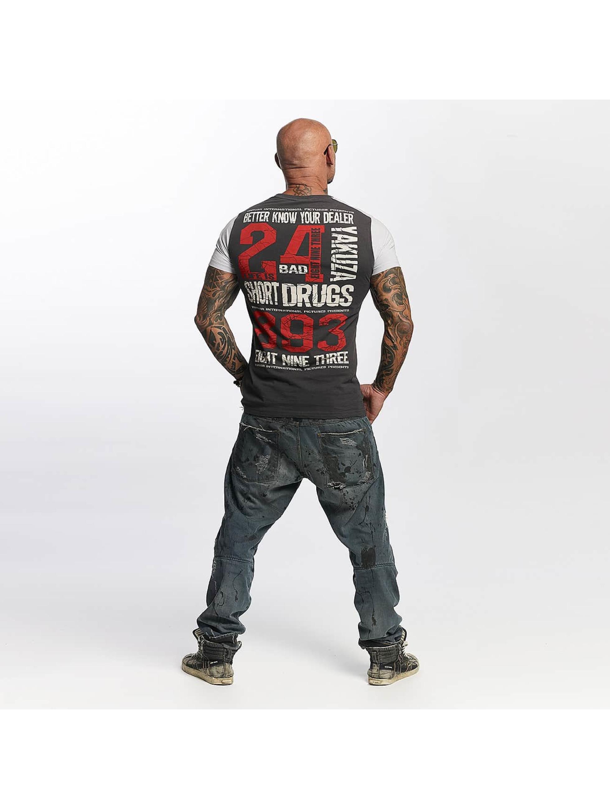Yakuza T-Shirt Know Your Dealer II gray