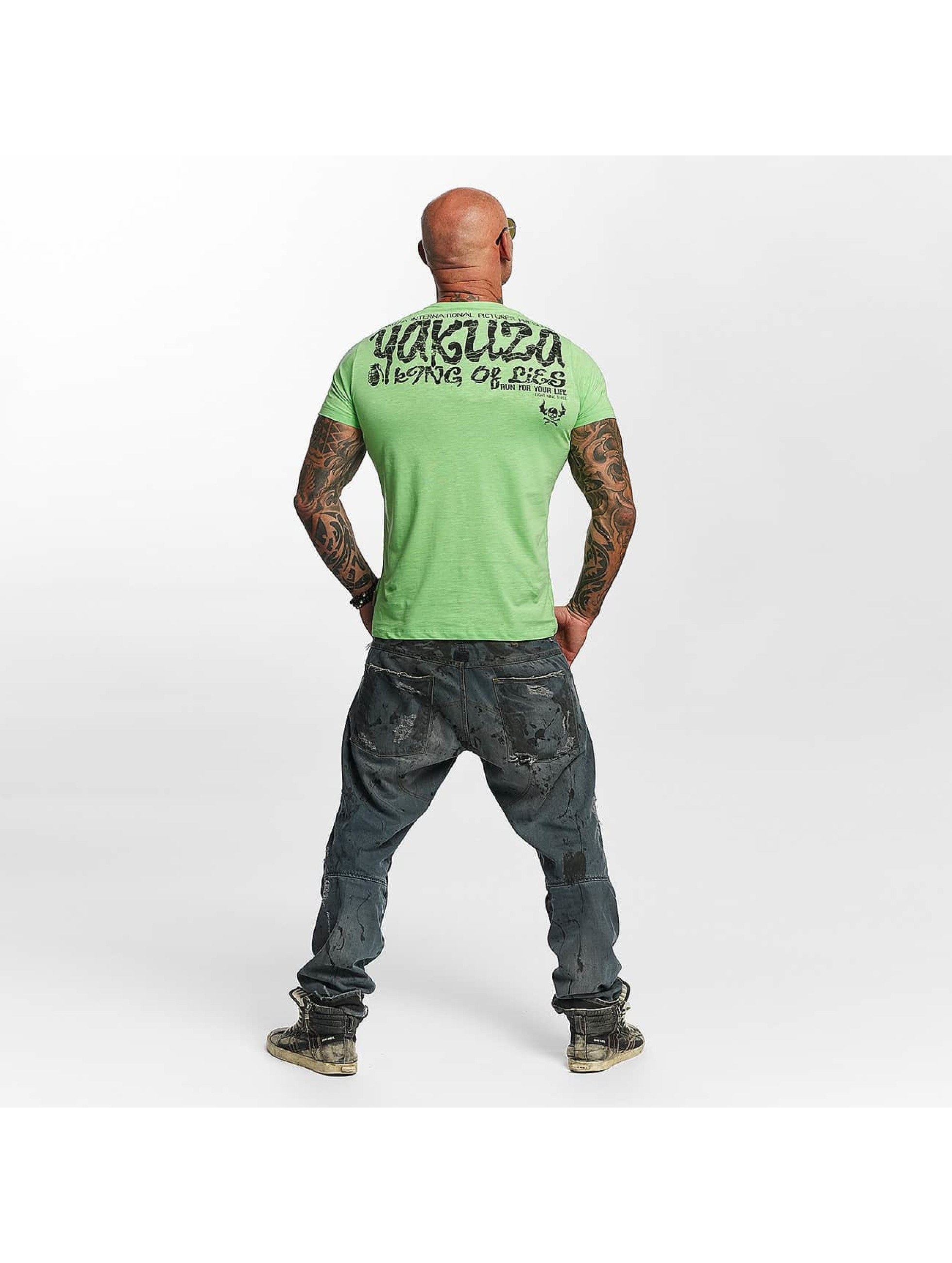 Yakuza T-Shirt King Of Lies green