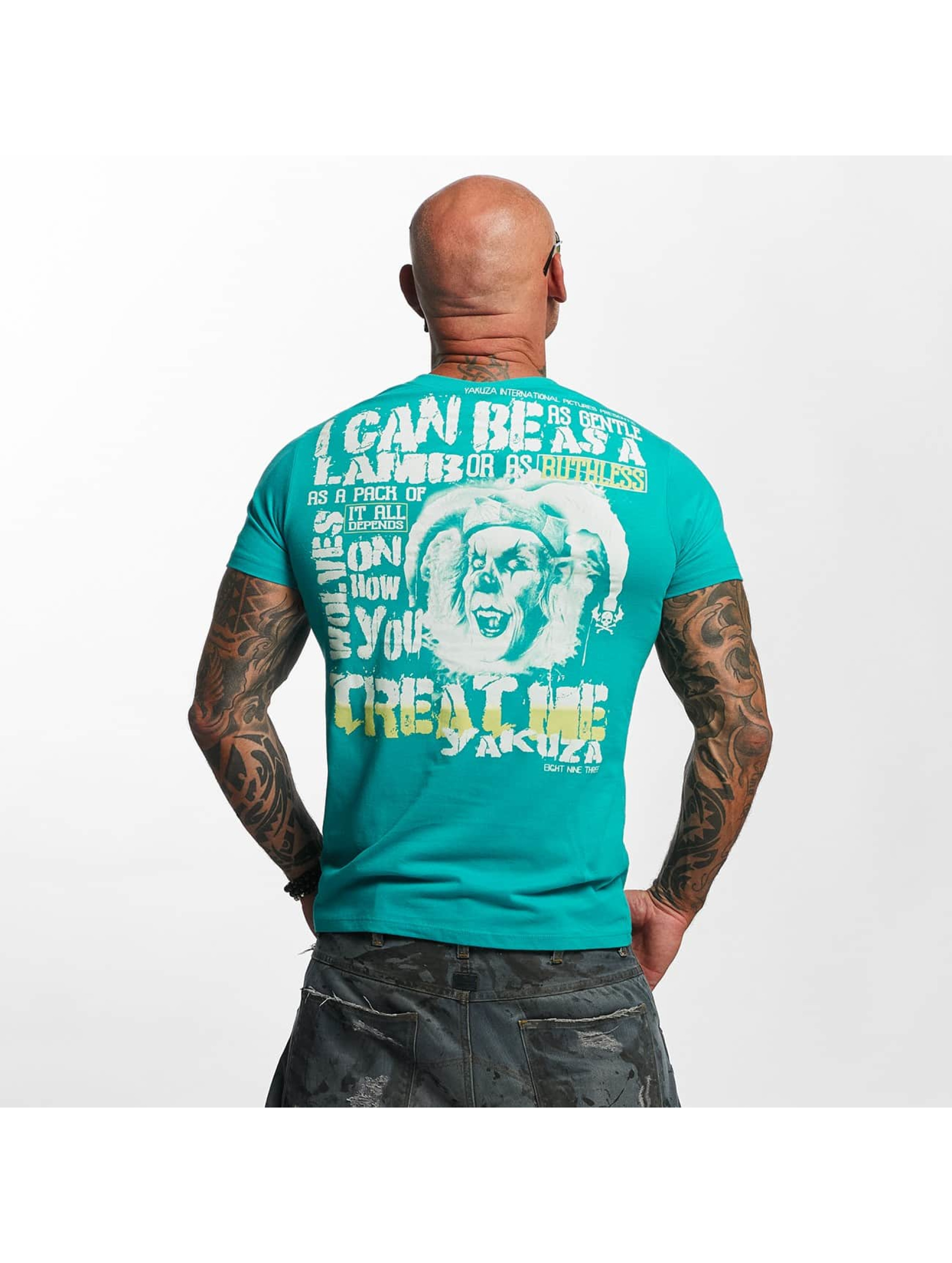 Yakuza T-Shirt Treat Me green