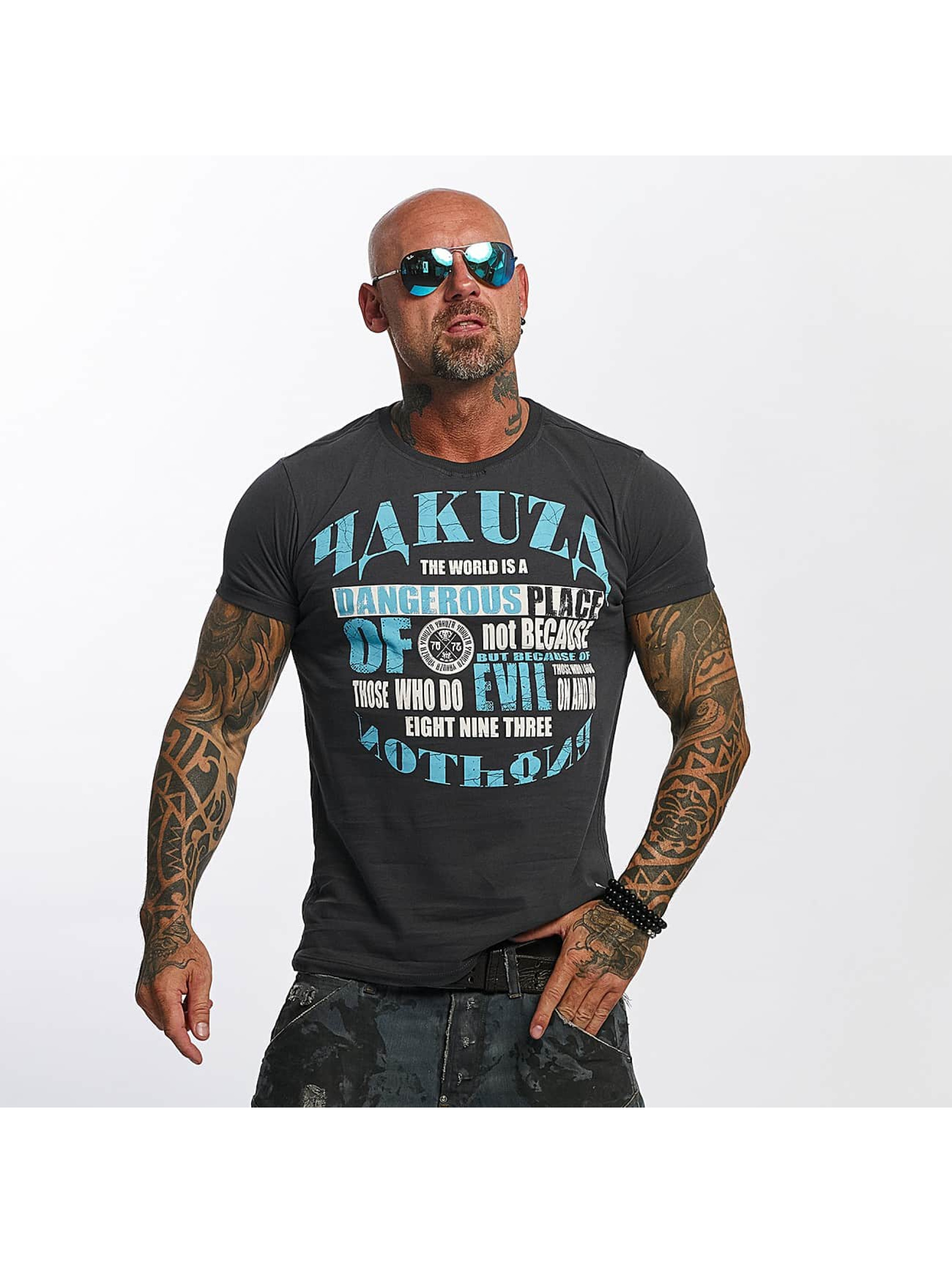 Yakuza T-Shirt Dangerous Place grey