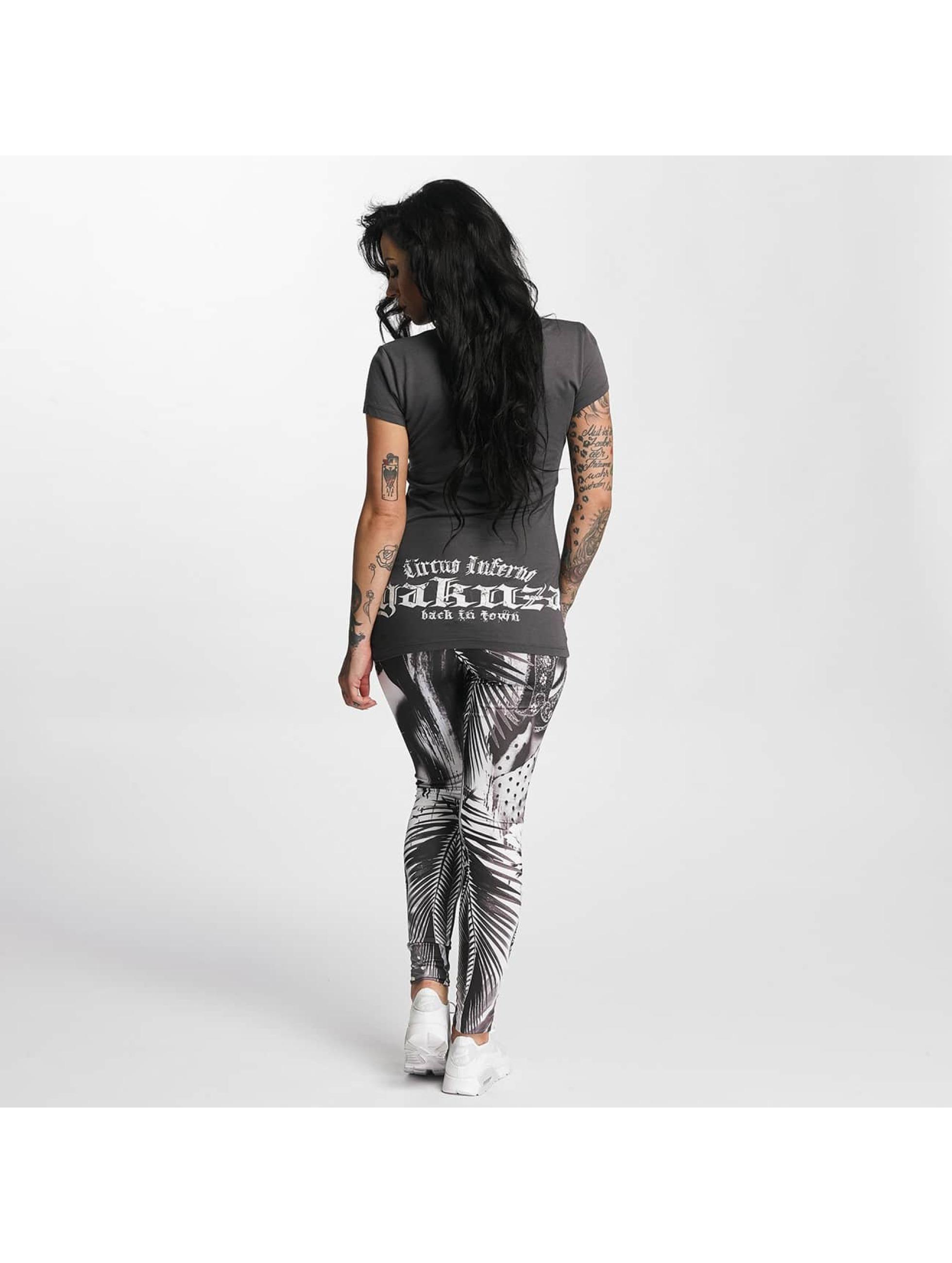 Yakuza T-Shirt Circus Inferno grey