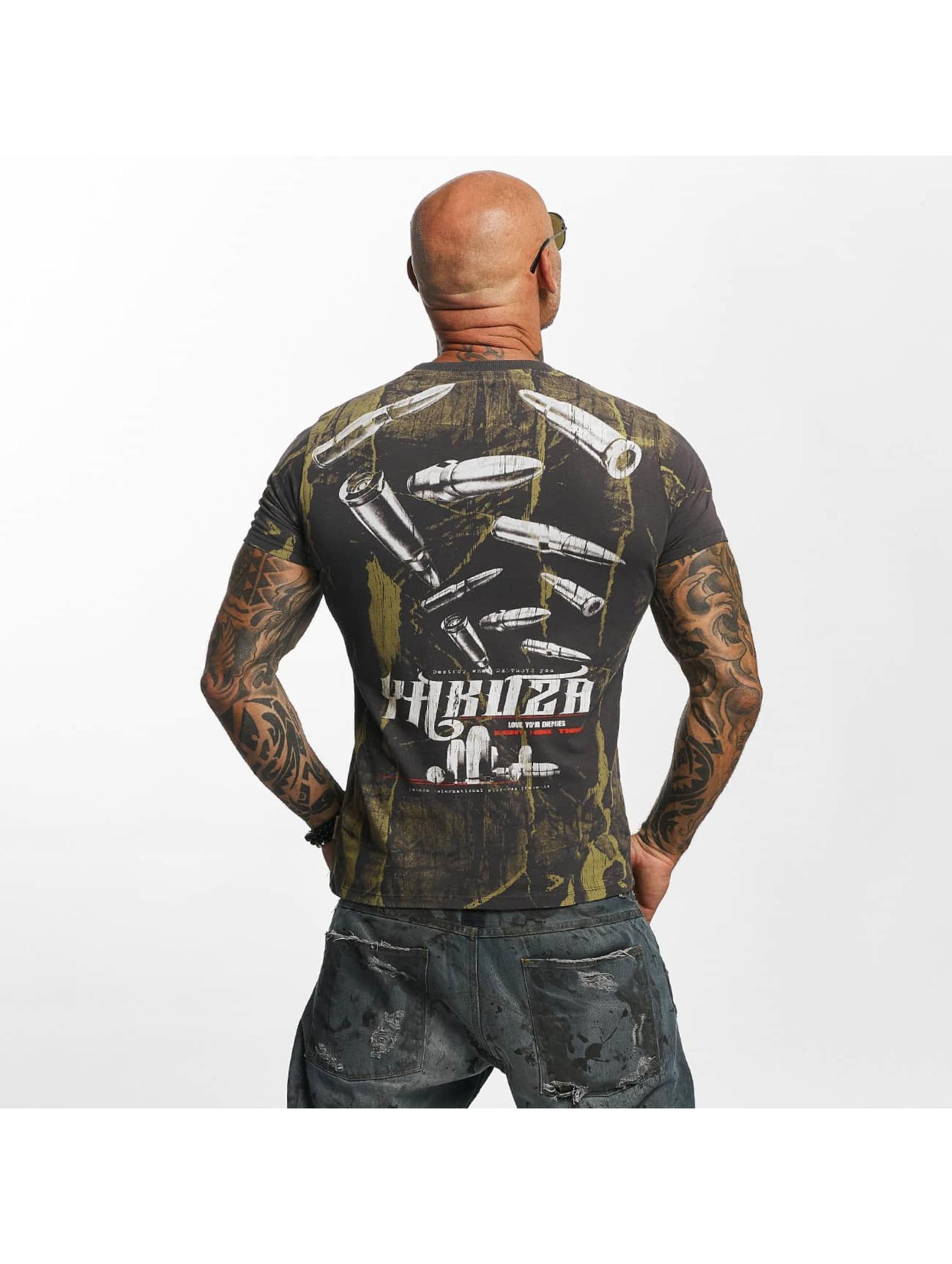 Yakuza T-shirt Blaze N Glory grigio