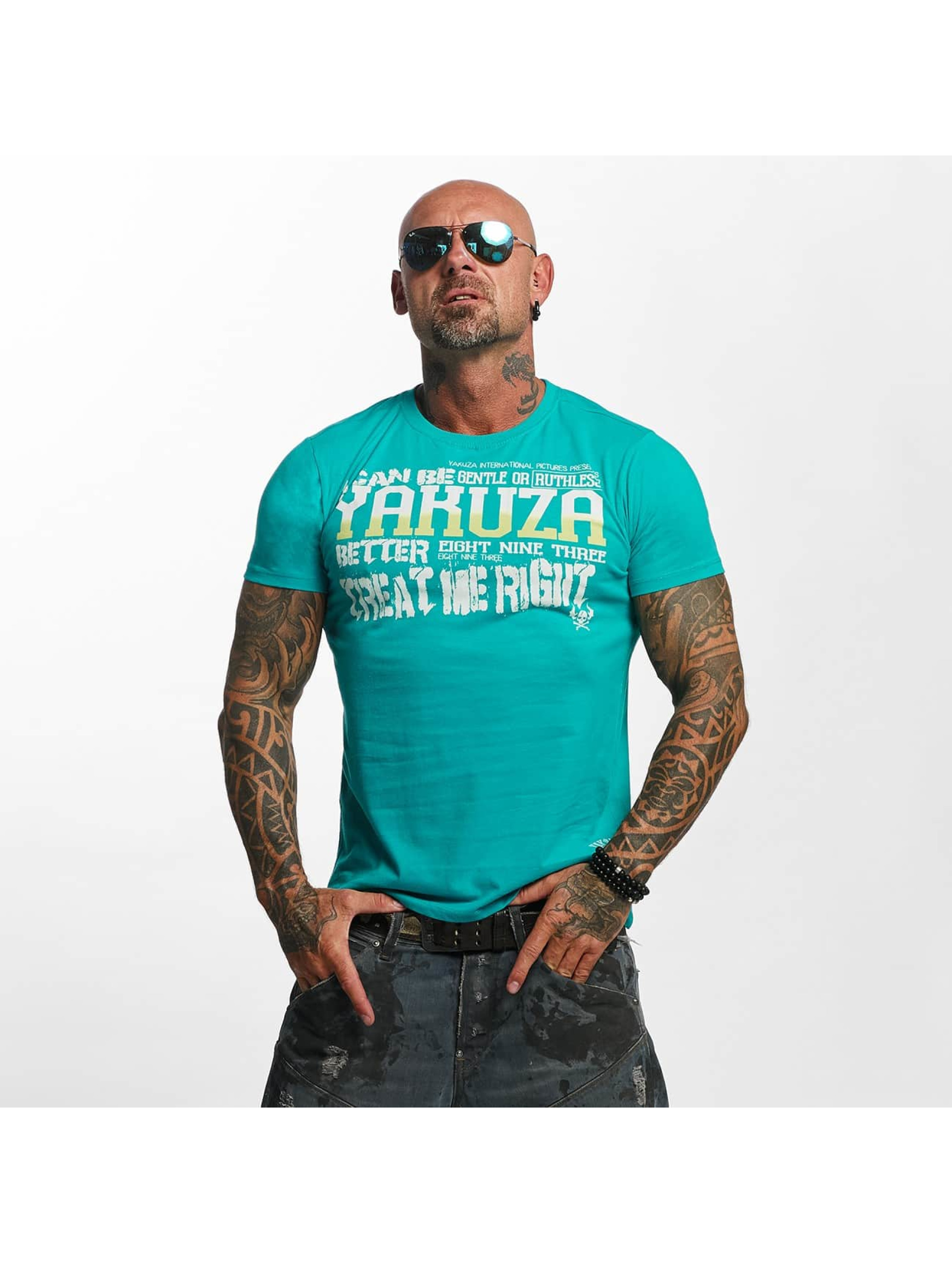 Yakuza T-Shirt Treat Me grün