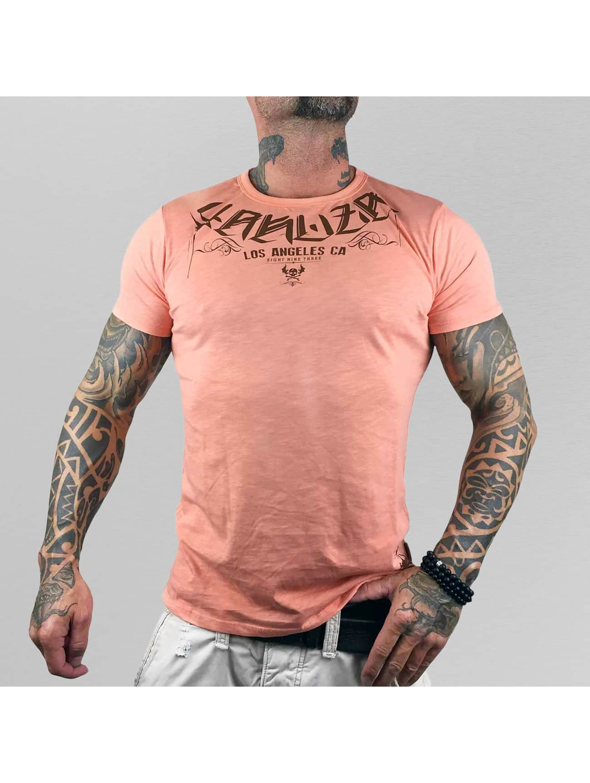 Yakuza T-Shirt Smoka orange