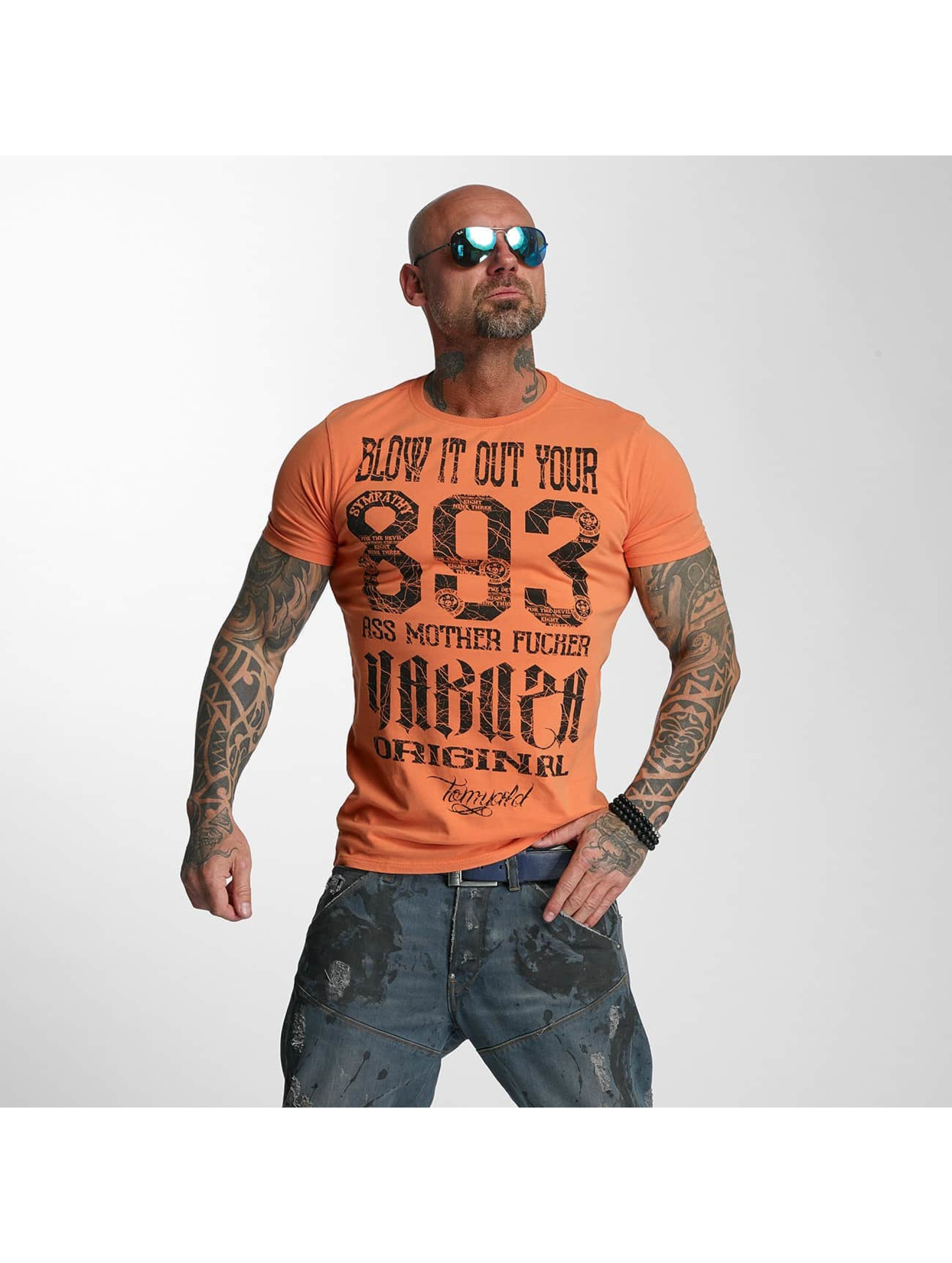 Yakuza T-Shirt Blow It Out orange