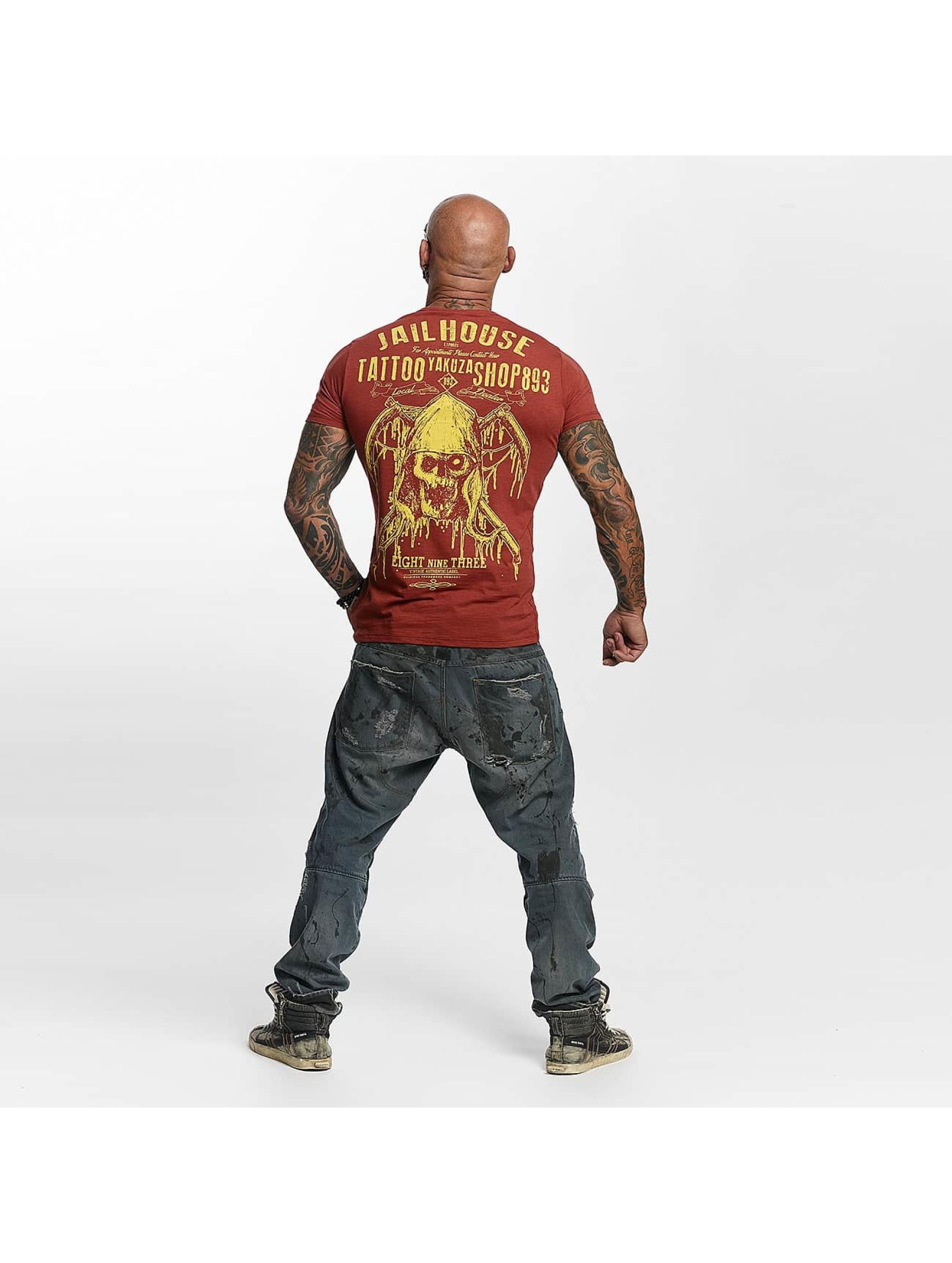 Yakuza T-Shirt Tattoo Shop red