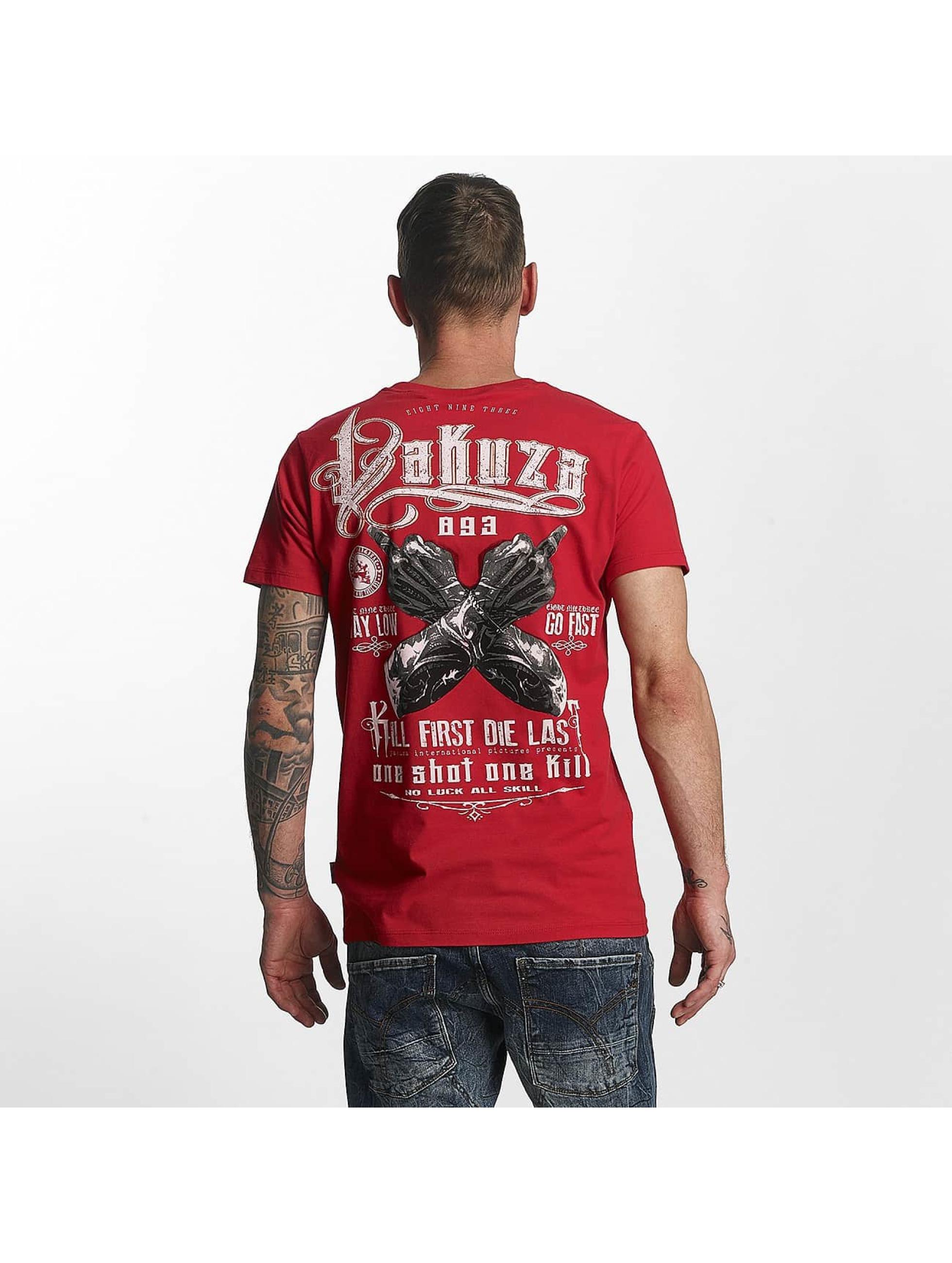 Yakuza T-shirt One Shot röd