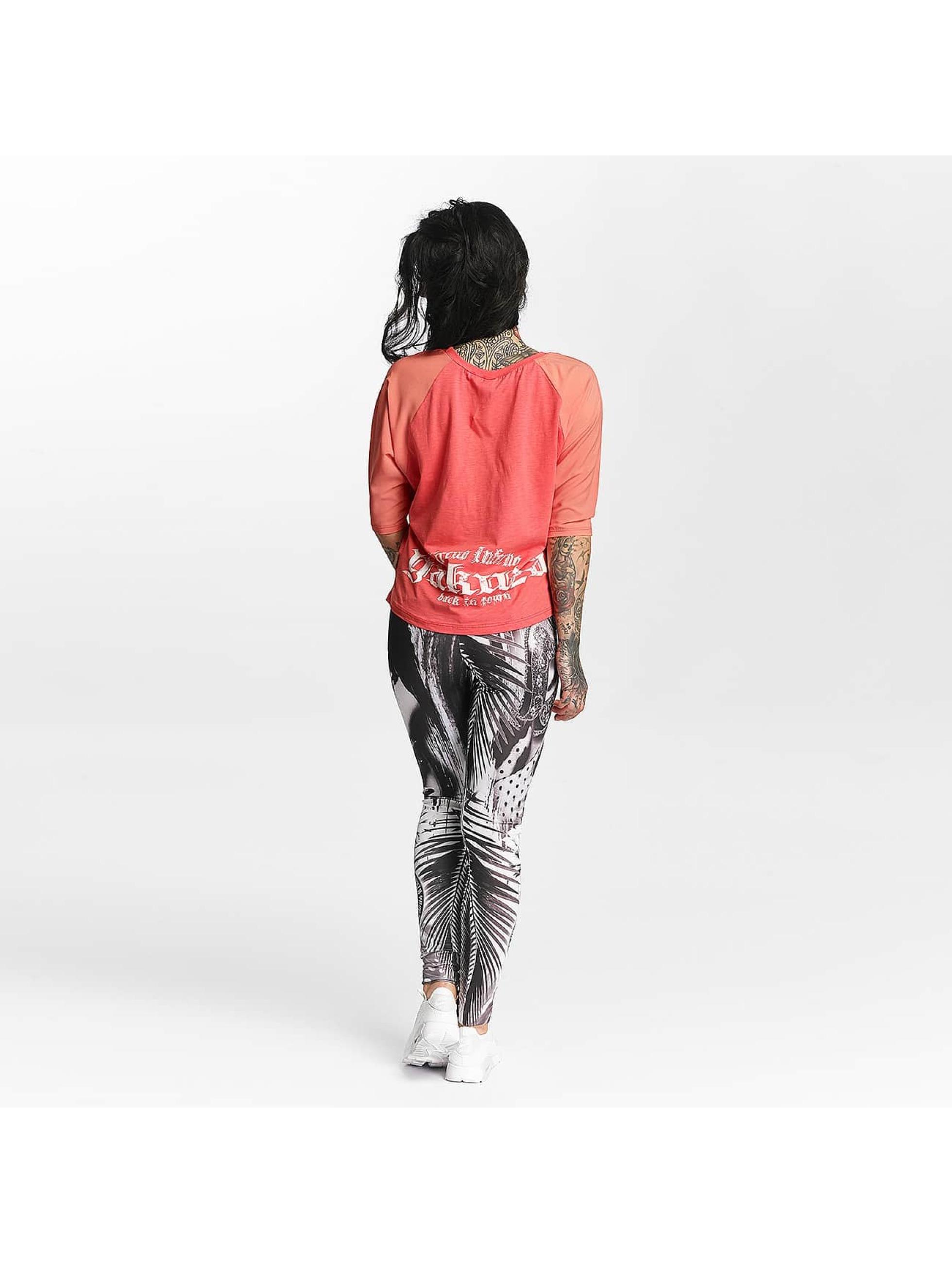 Yakuza T-Shirt Circus Inferno rosa