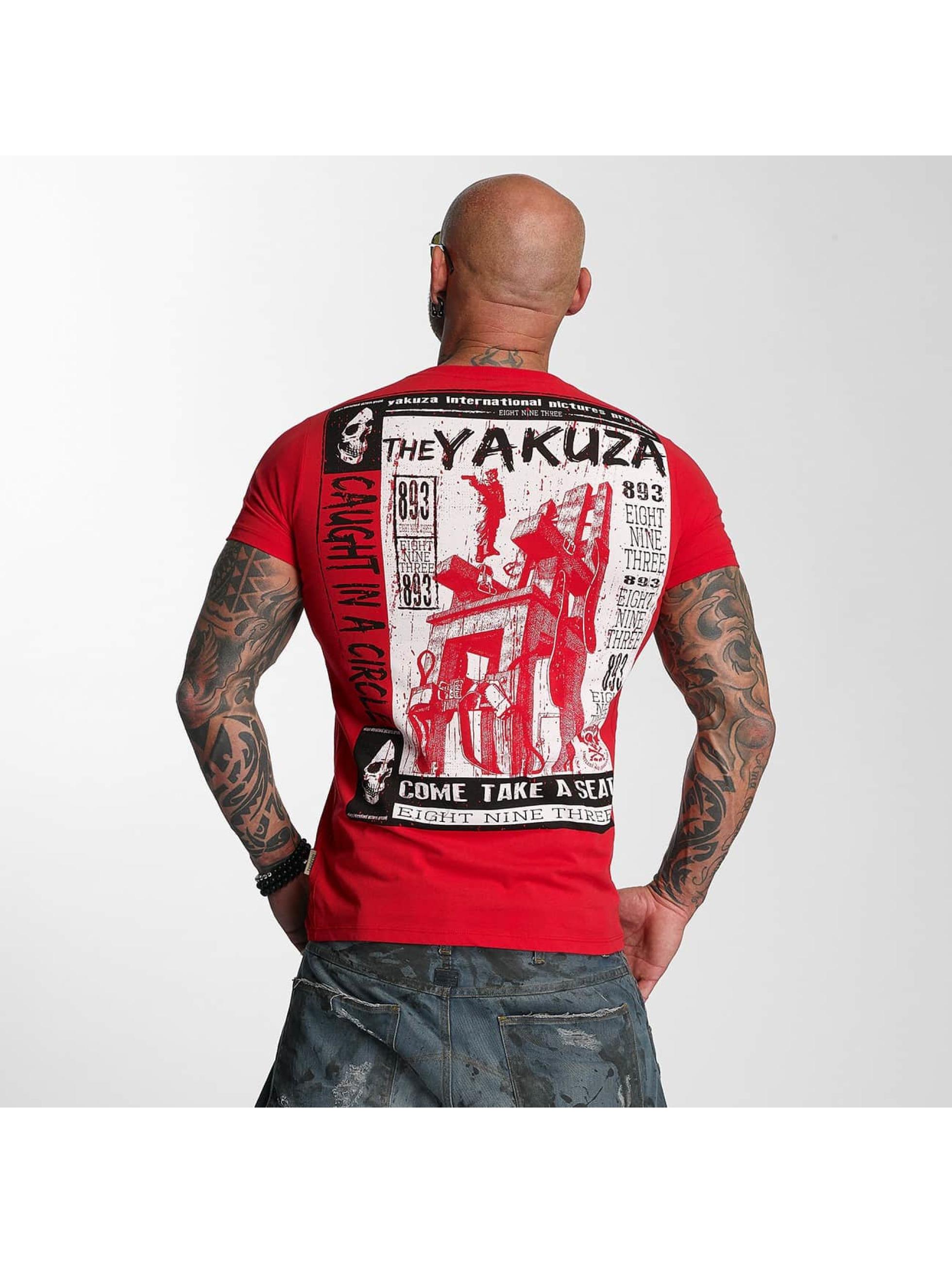 Yakuza T-Shirt Take A Seat rot