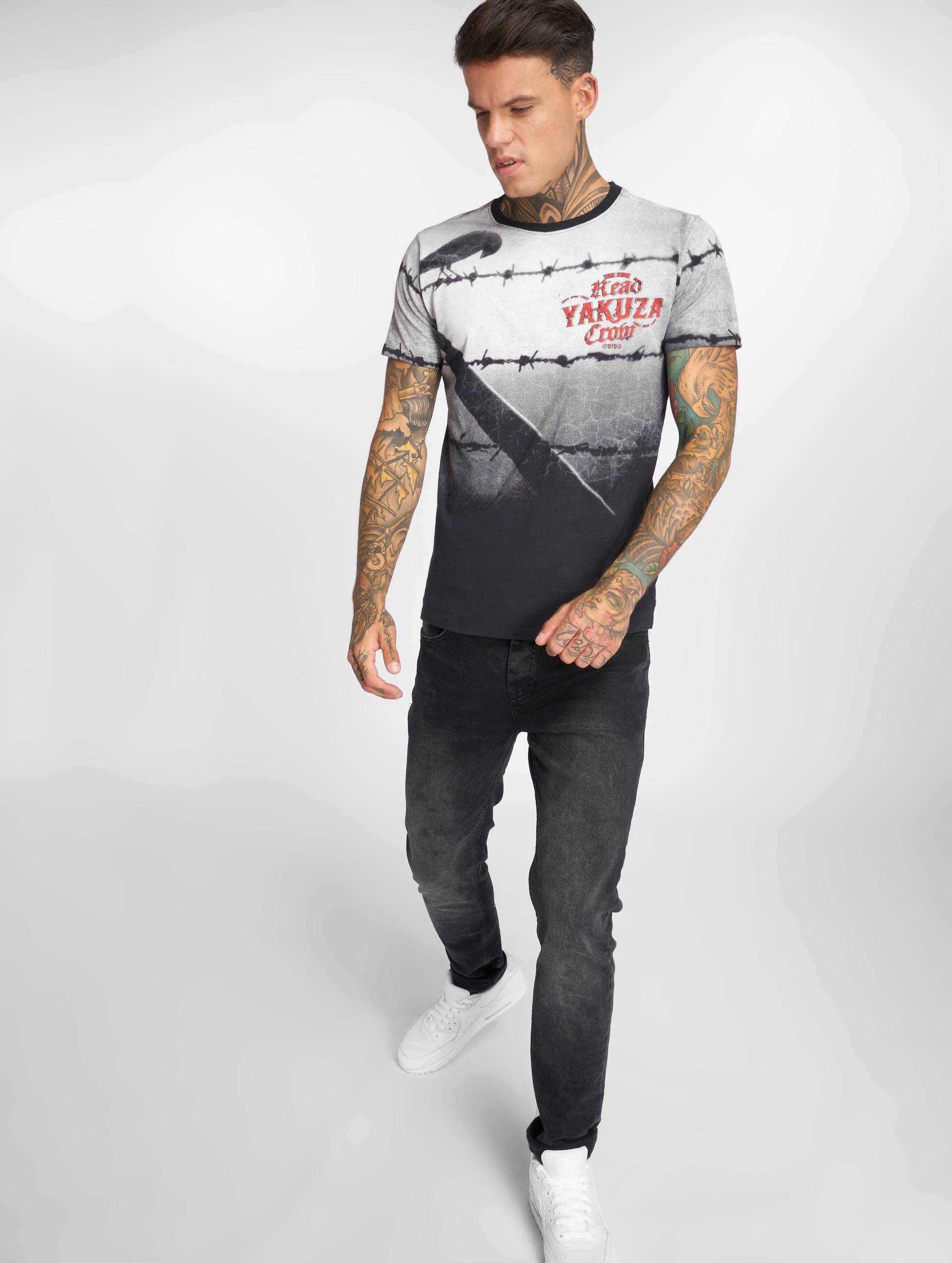 Yakuza T-Shirt Crow schwarz