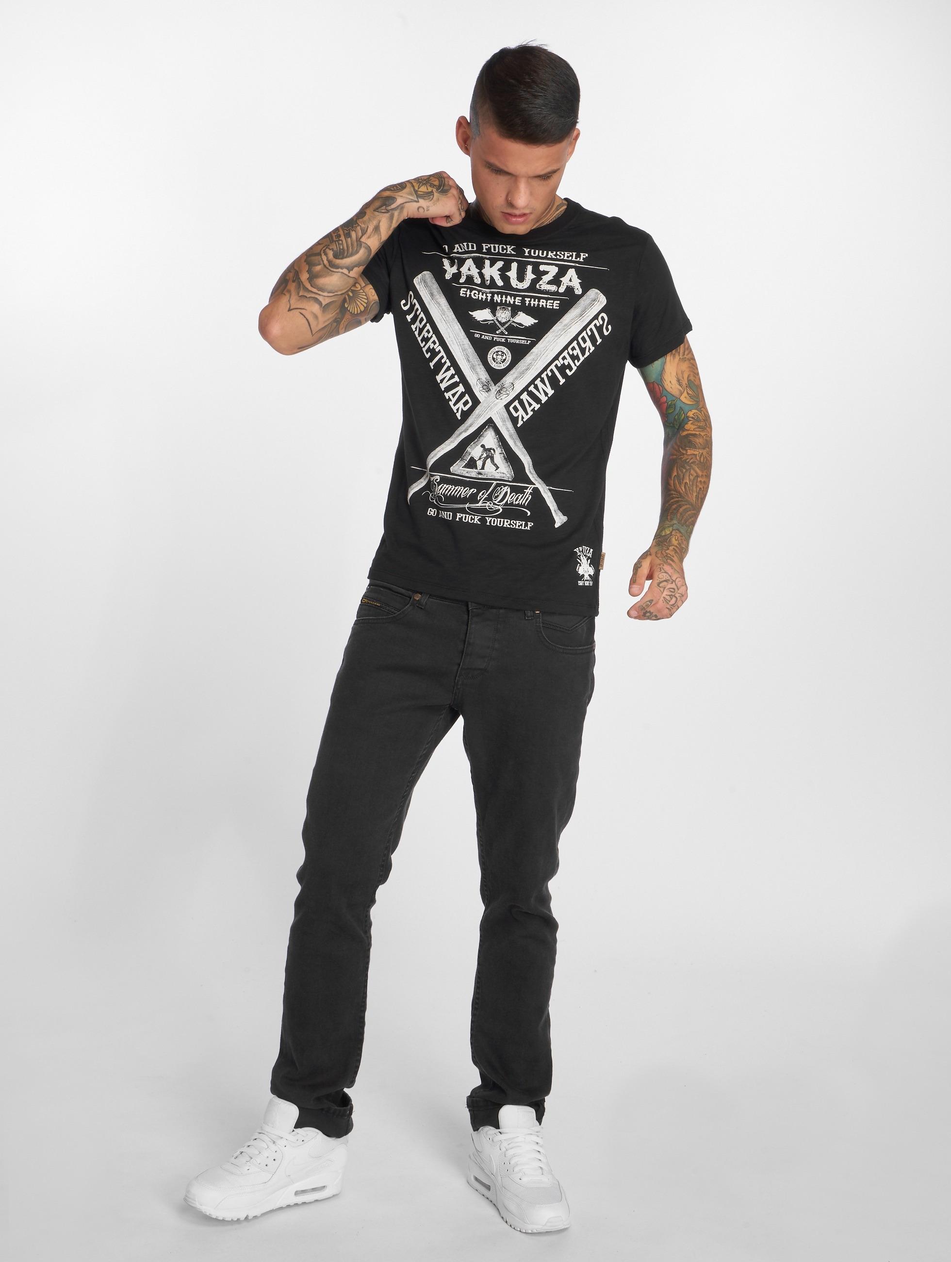 Yakuza T-Shirt Streetwar schwarz