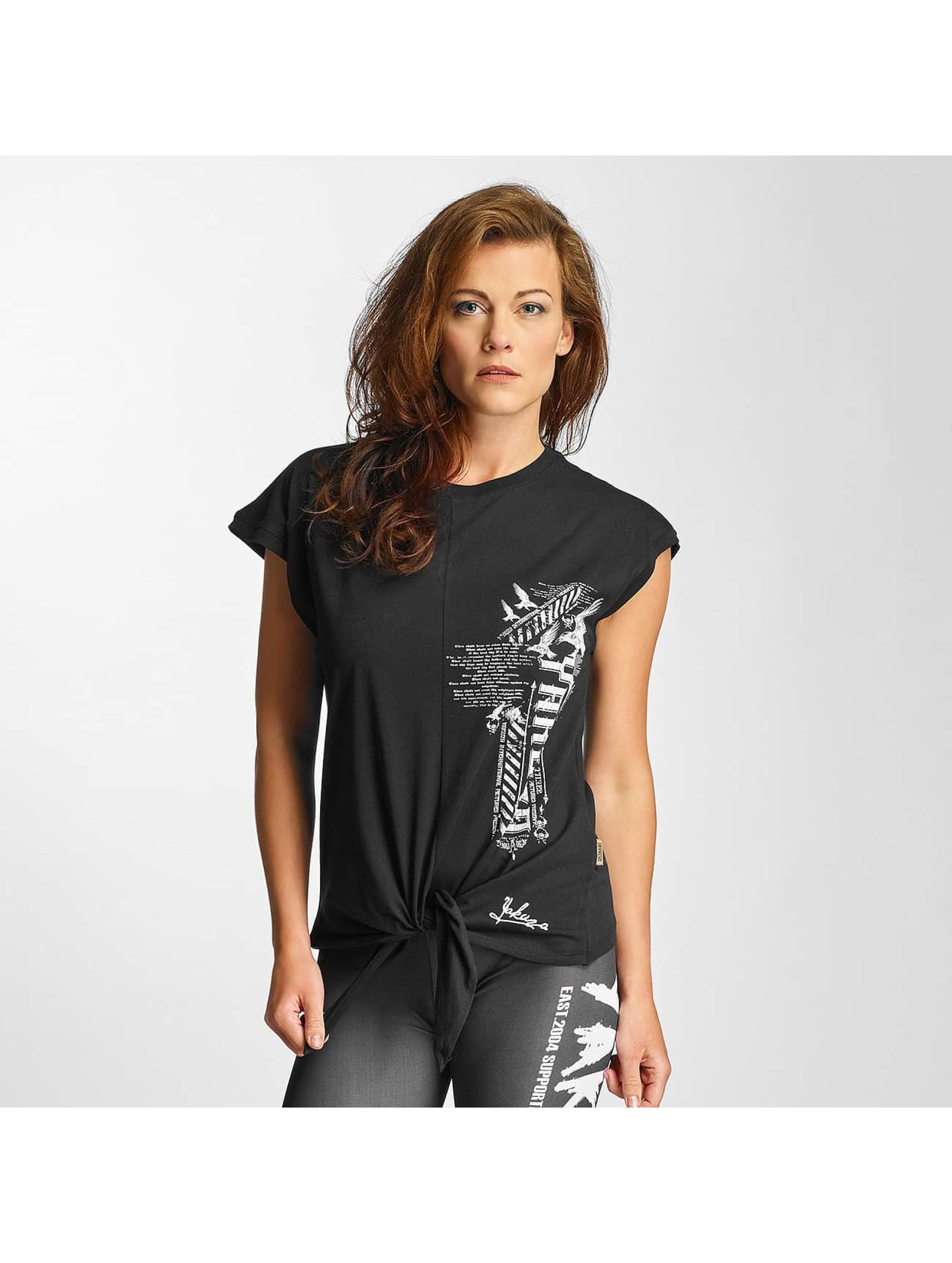 Yakuza T-Shirt Commandments Knot schwarz