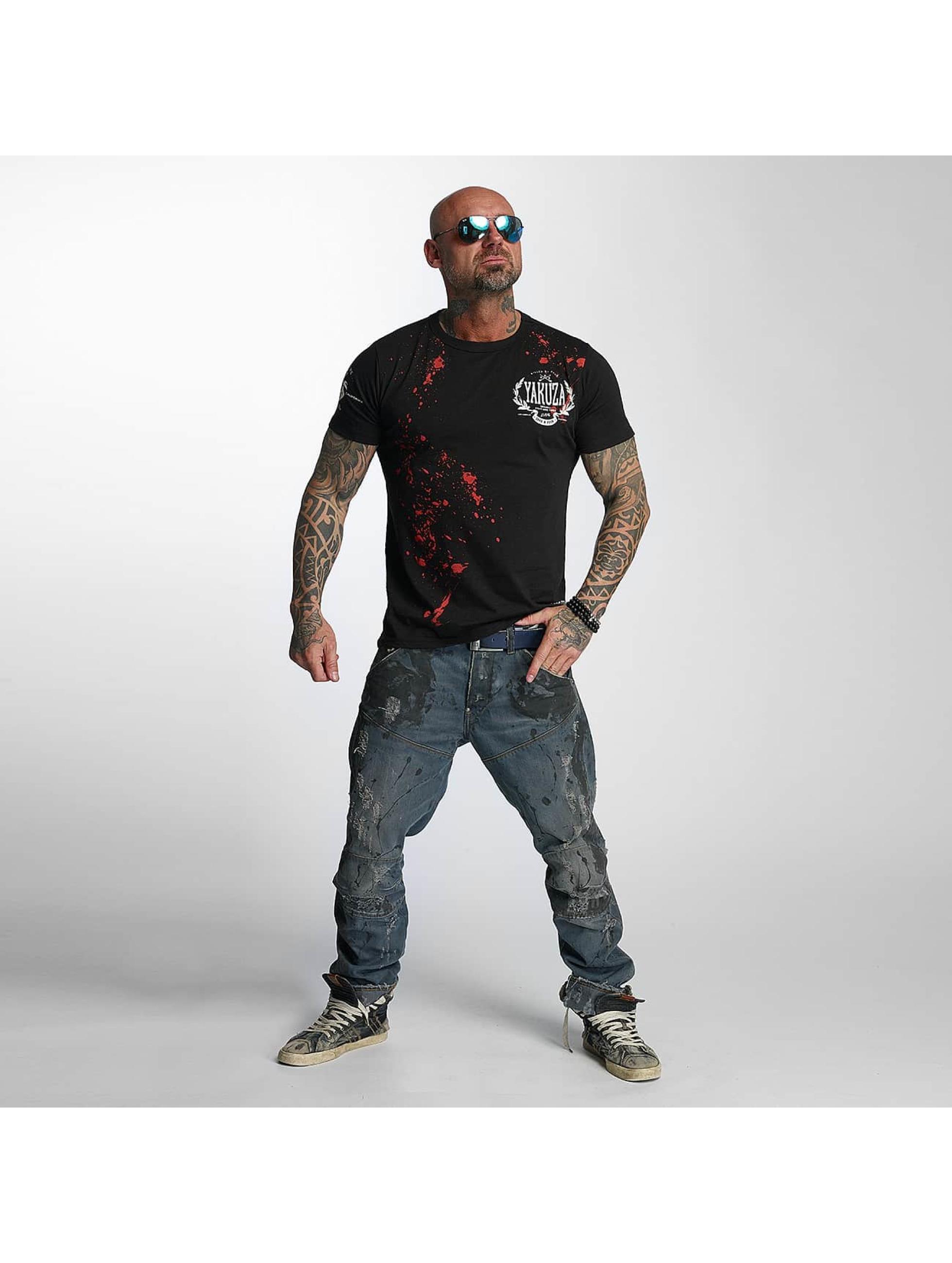 Yakuza T-Shirt Killed By Fame schwarz