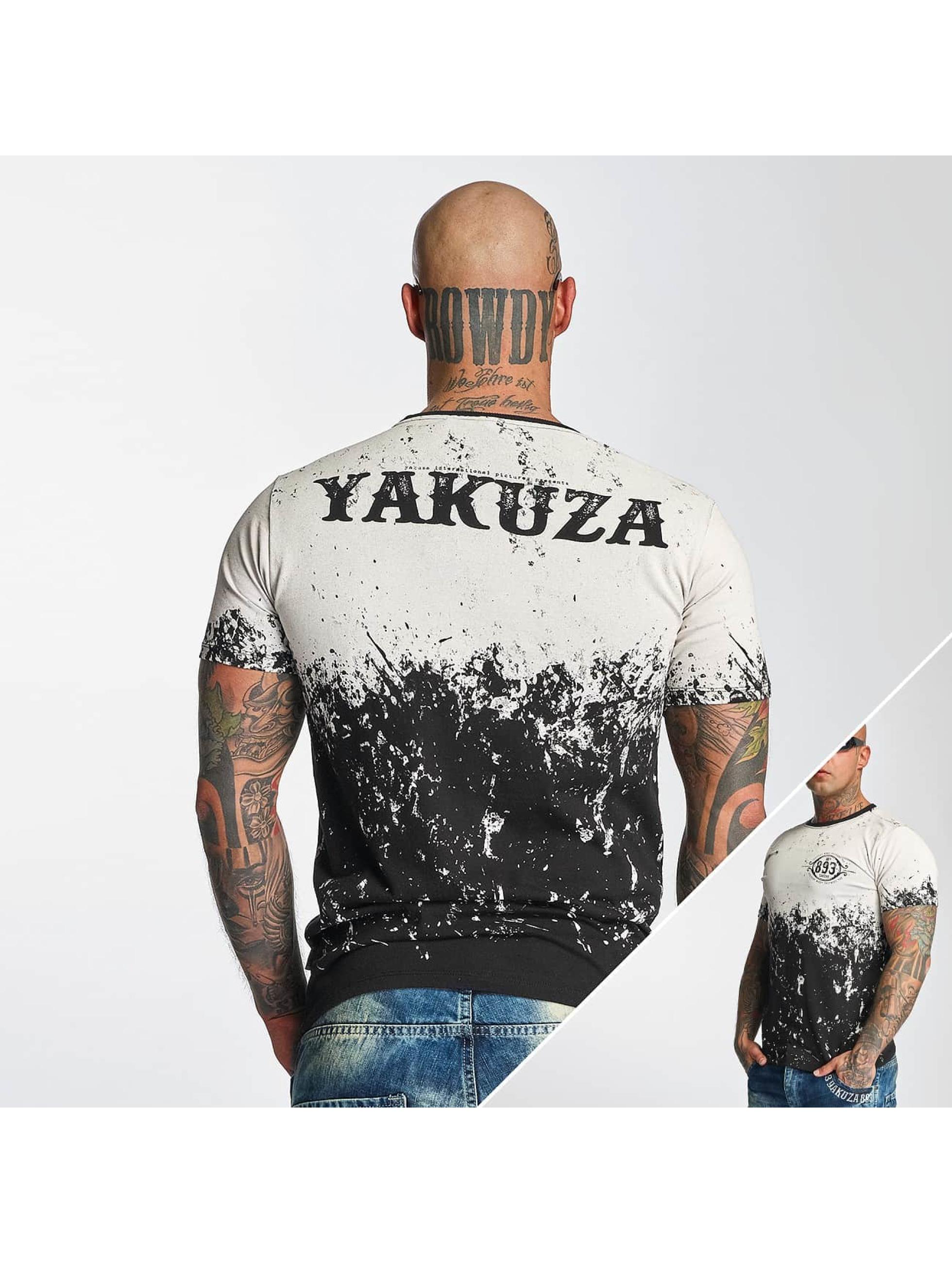 Yakuza T-Shirt Splatter schwarz