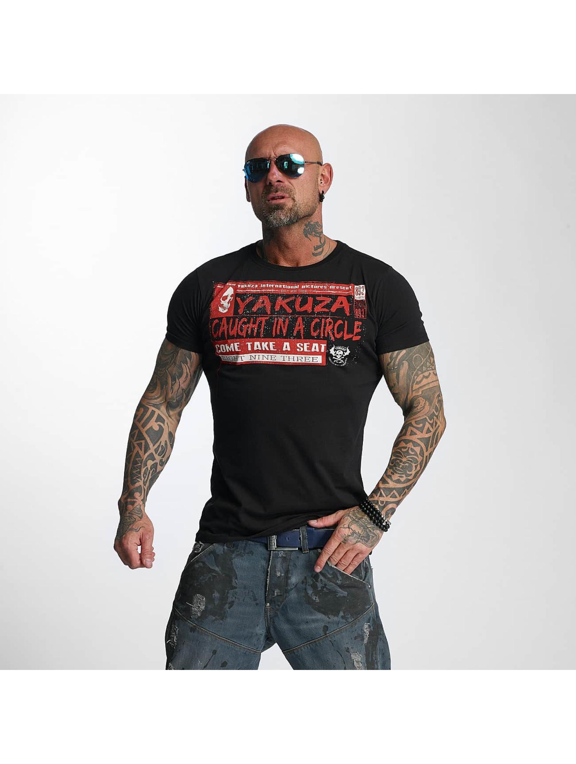 Yakuza T-Shirt Take A Seat schwarz