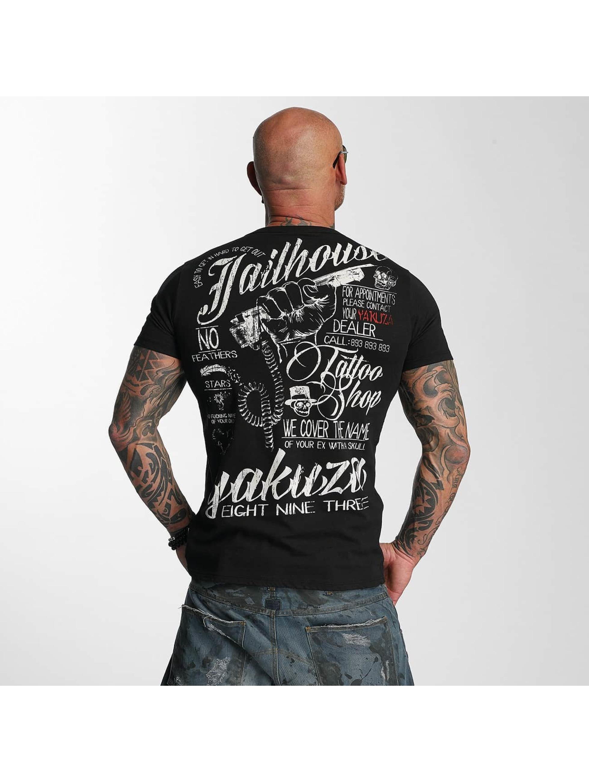 Yakuza T-Shirt Jailhouse schwarz