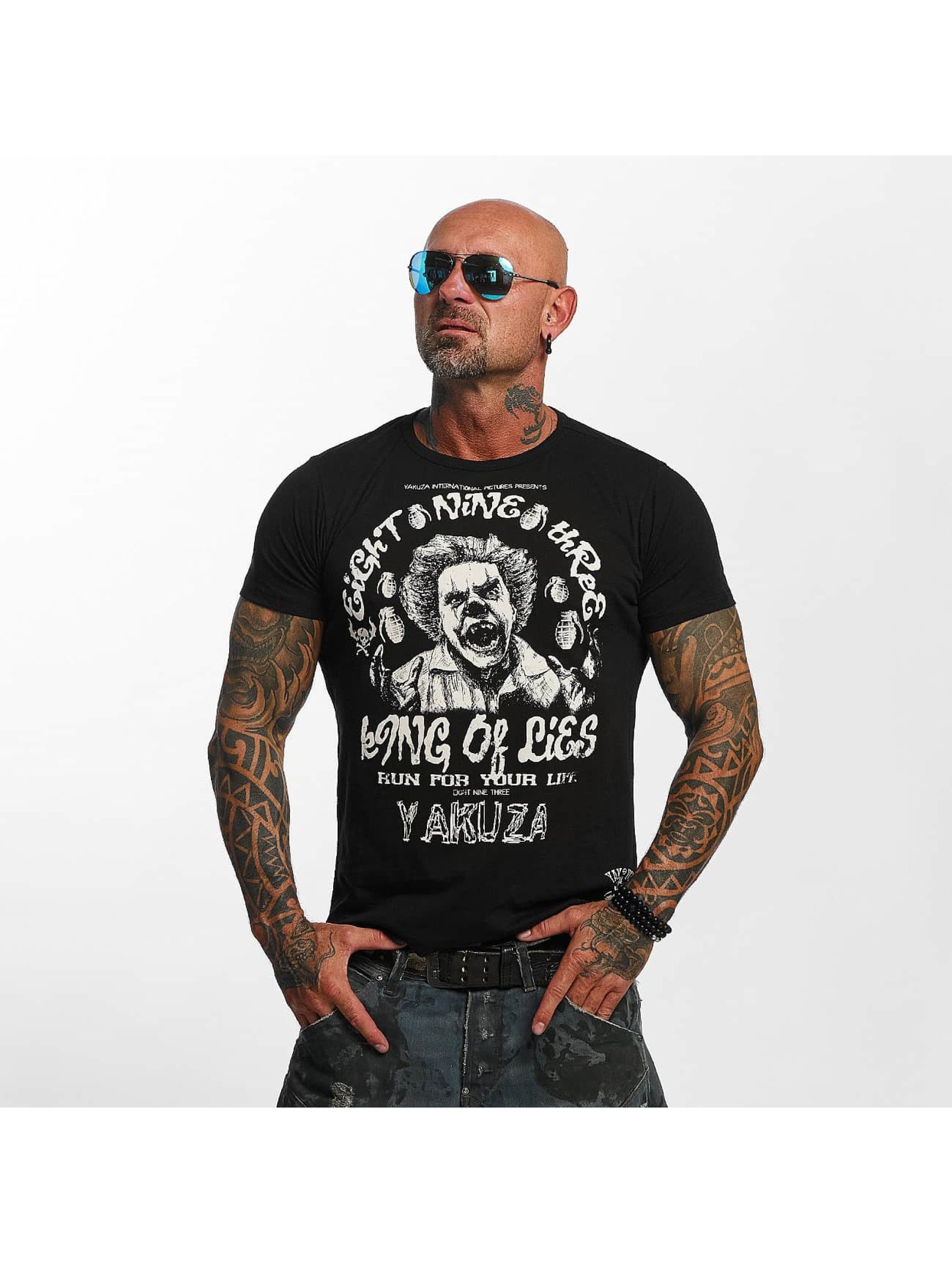 Yakuza T-Shirt King Of Lies schwarz