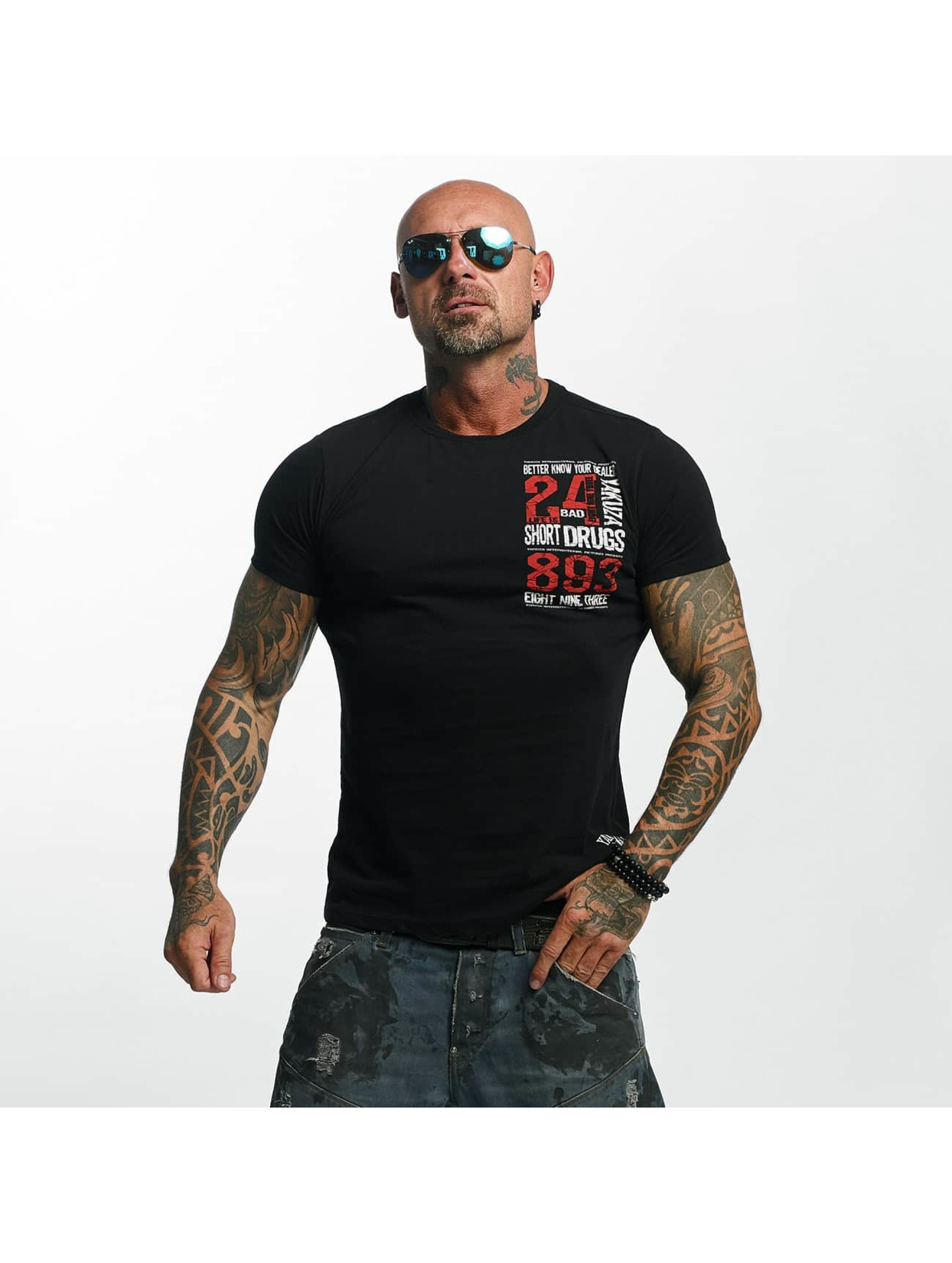 Yakuza T-Shirt Know Your Dealer schwarz