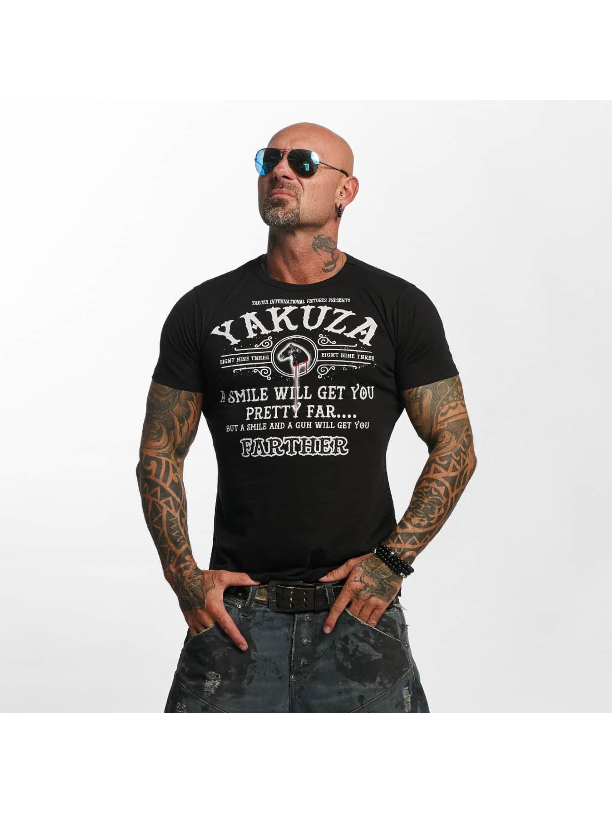 Yakuza T-Shirt Farther schwarz