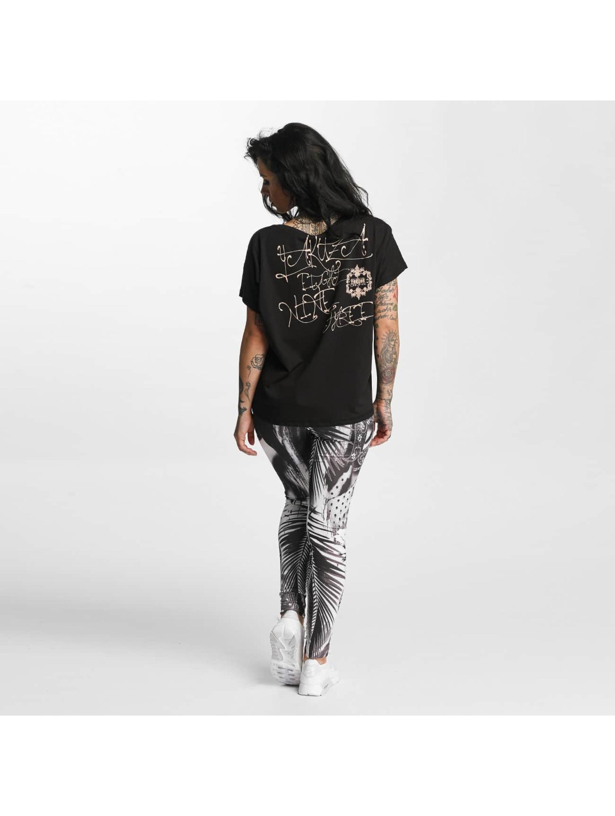 Yakuza T-Shirt Dead Swan Cropped schwarz