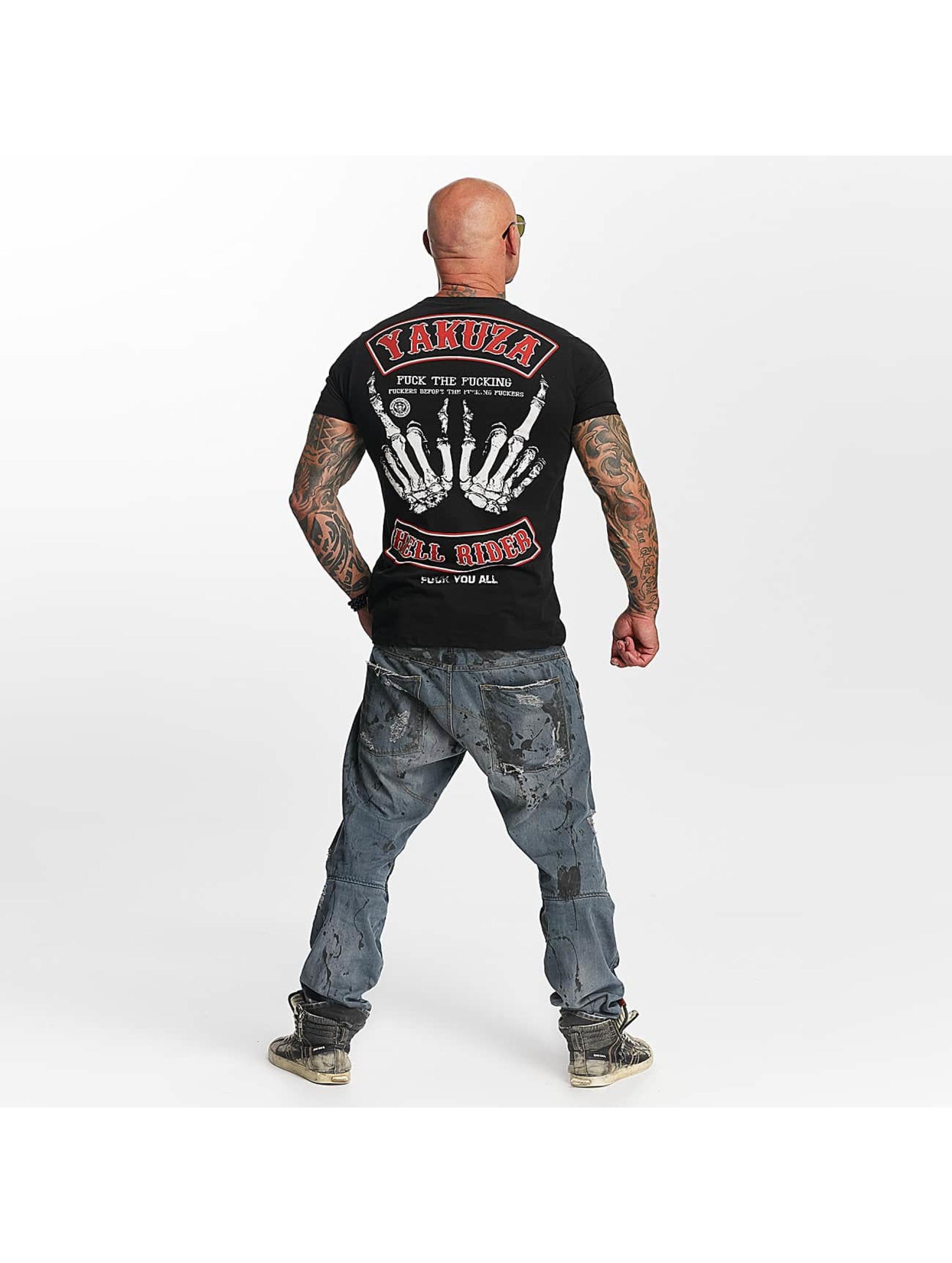 Yakuza T-Shirt Hell Rider schwarz
