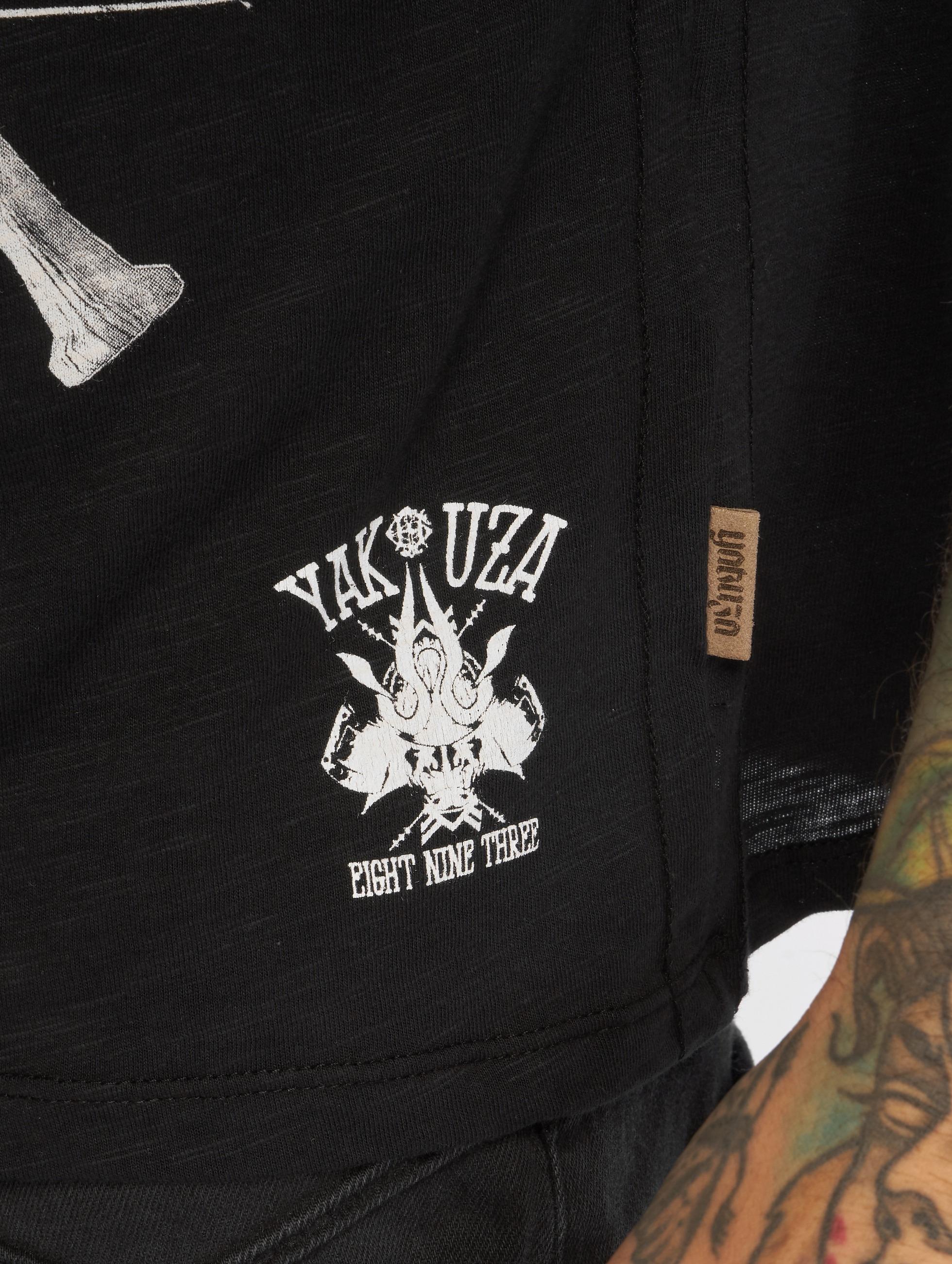 Yakuza T-shirt Streetwar svart