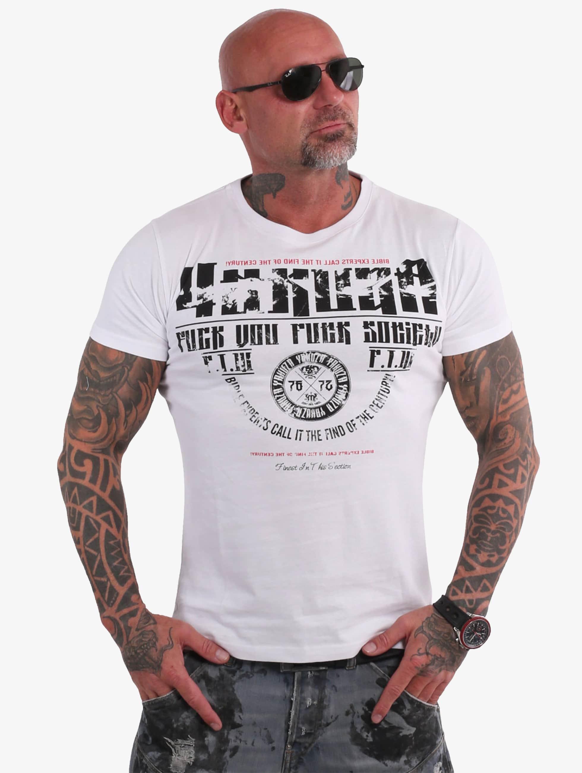 Yakuza T-Shirt Fuck You weiß