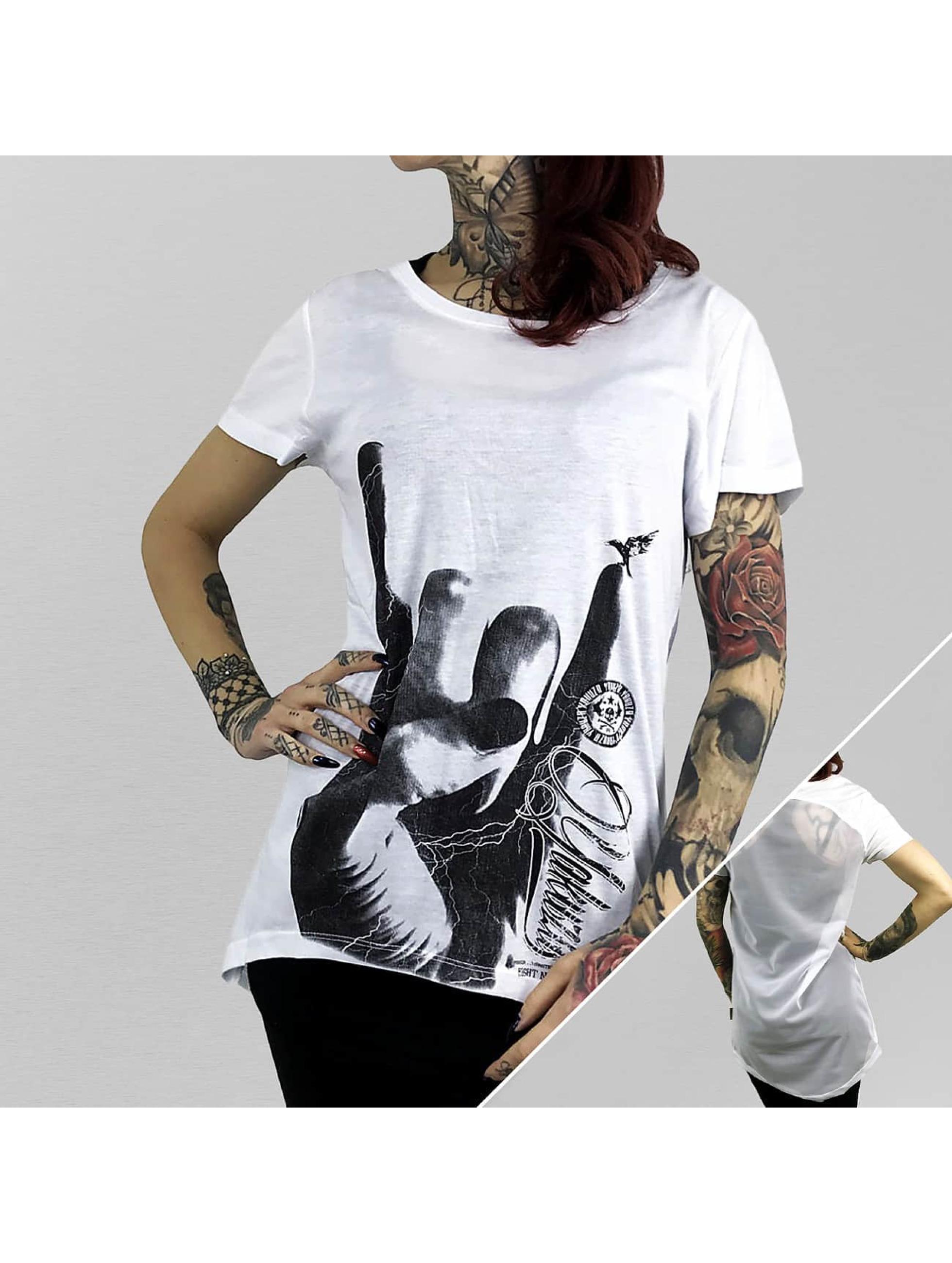 Yakuza T-Shirt Rocker Limpid weiß