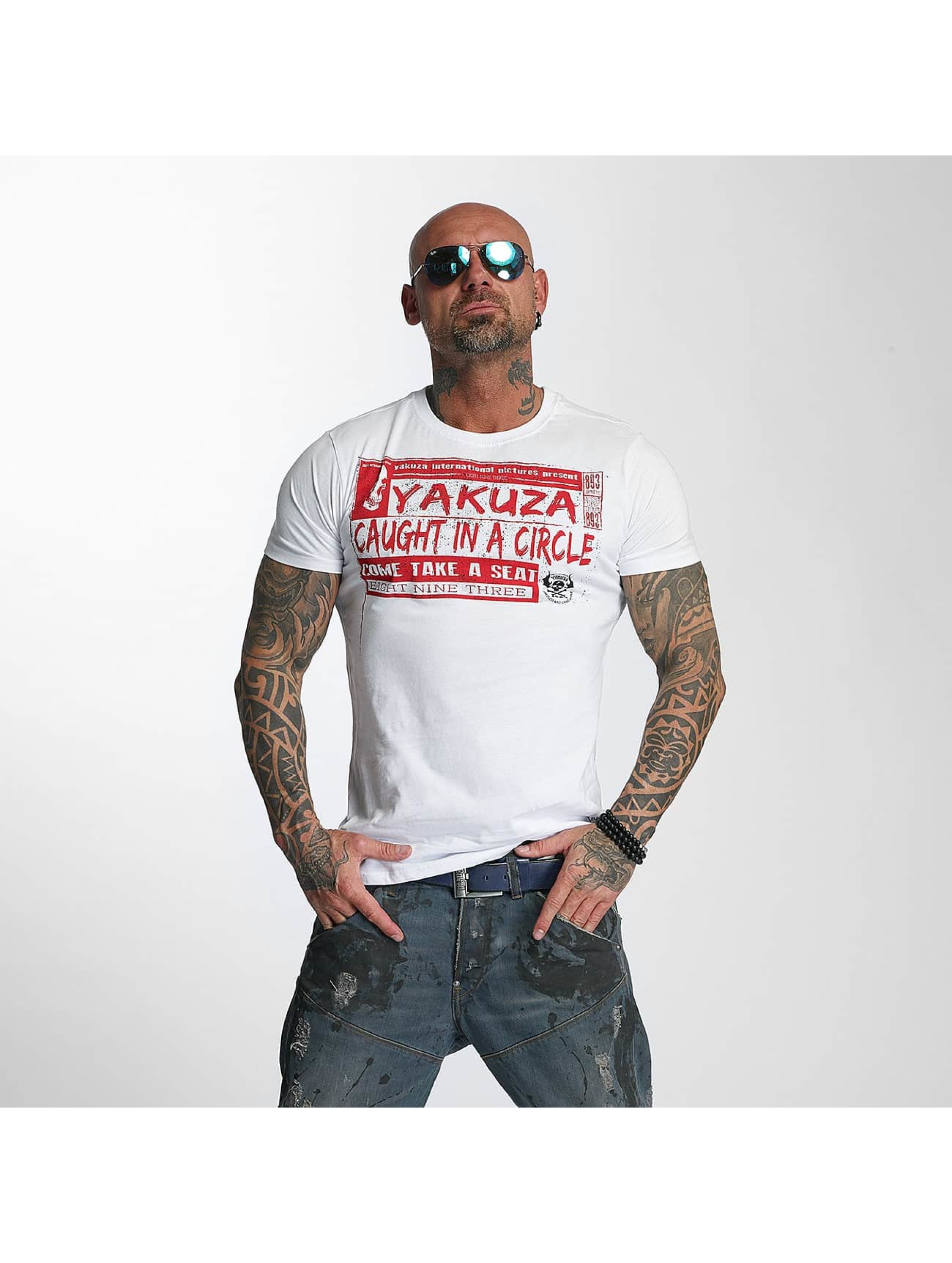 Yakuza T-Shirt Take A Seat weiß