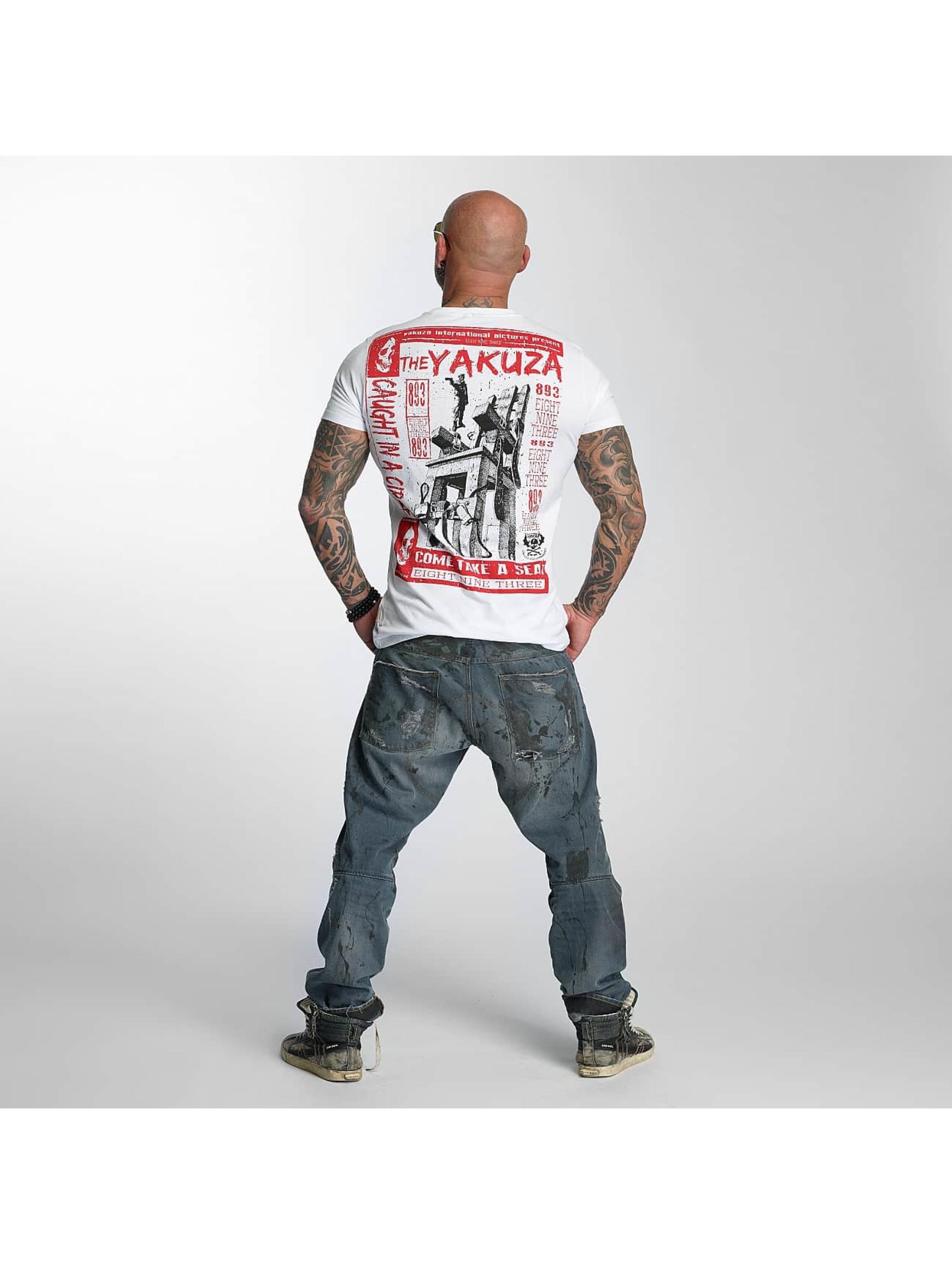 Yakuza T-Shirt Take A Seat weiß