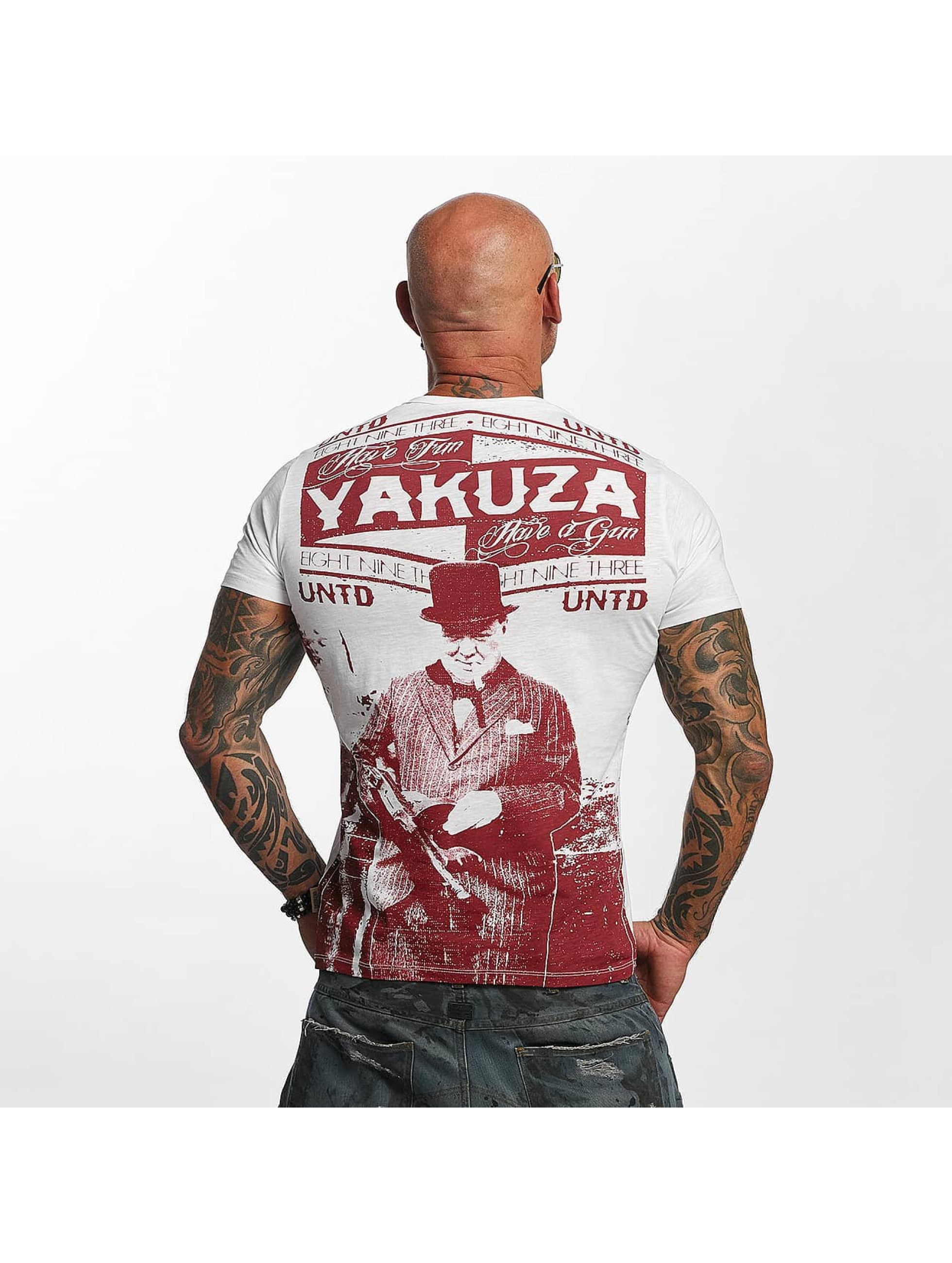 Yakuza T-Shirt Untd weiß