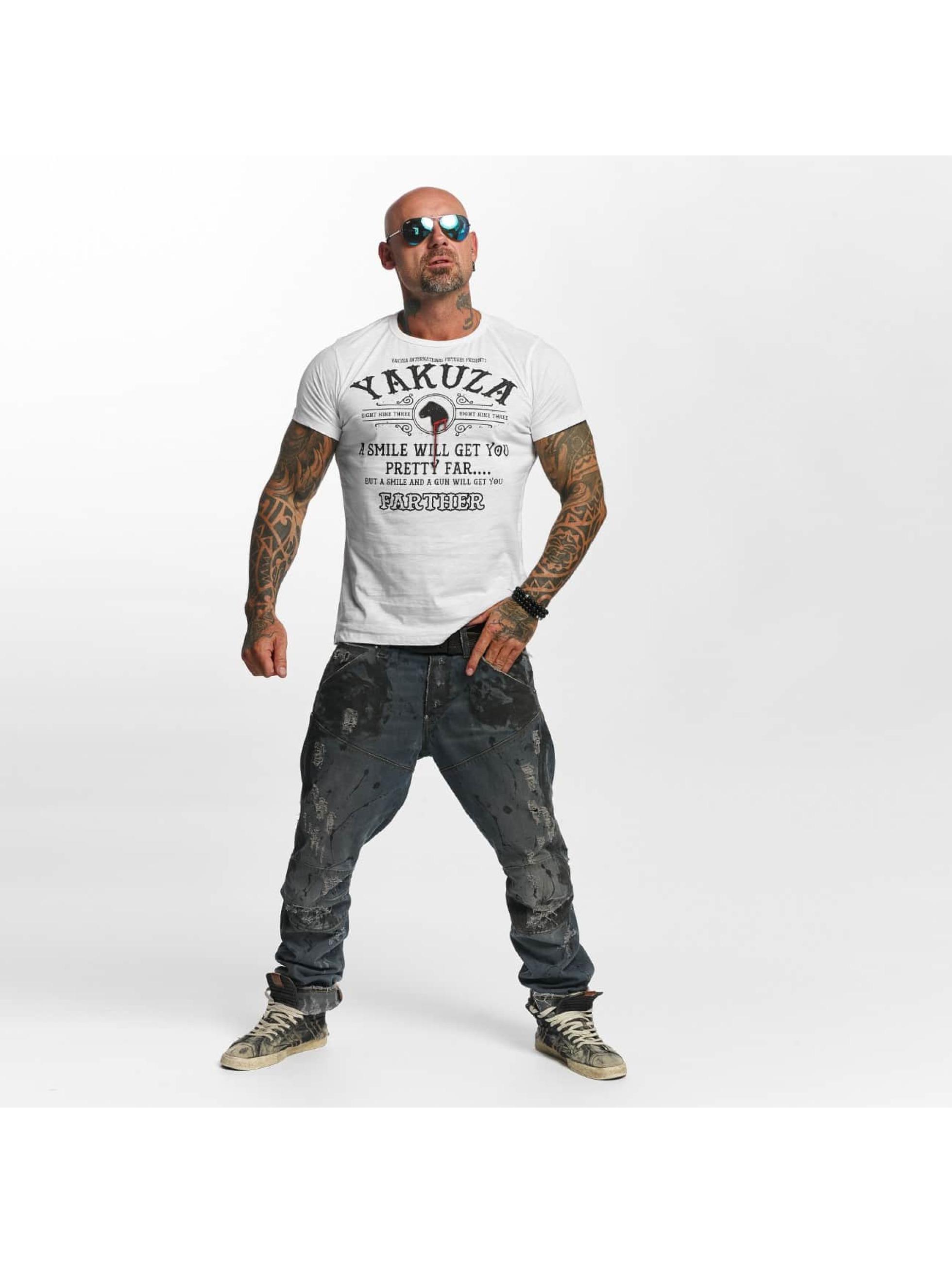 Yakuza T-Shirt Farther weiß