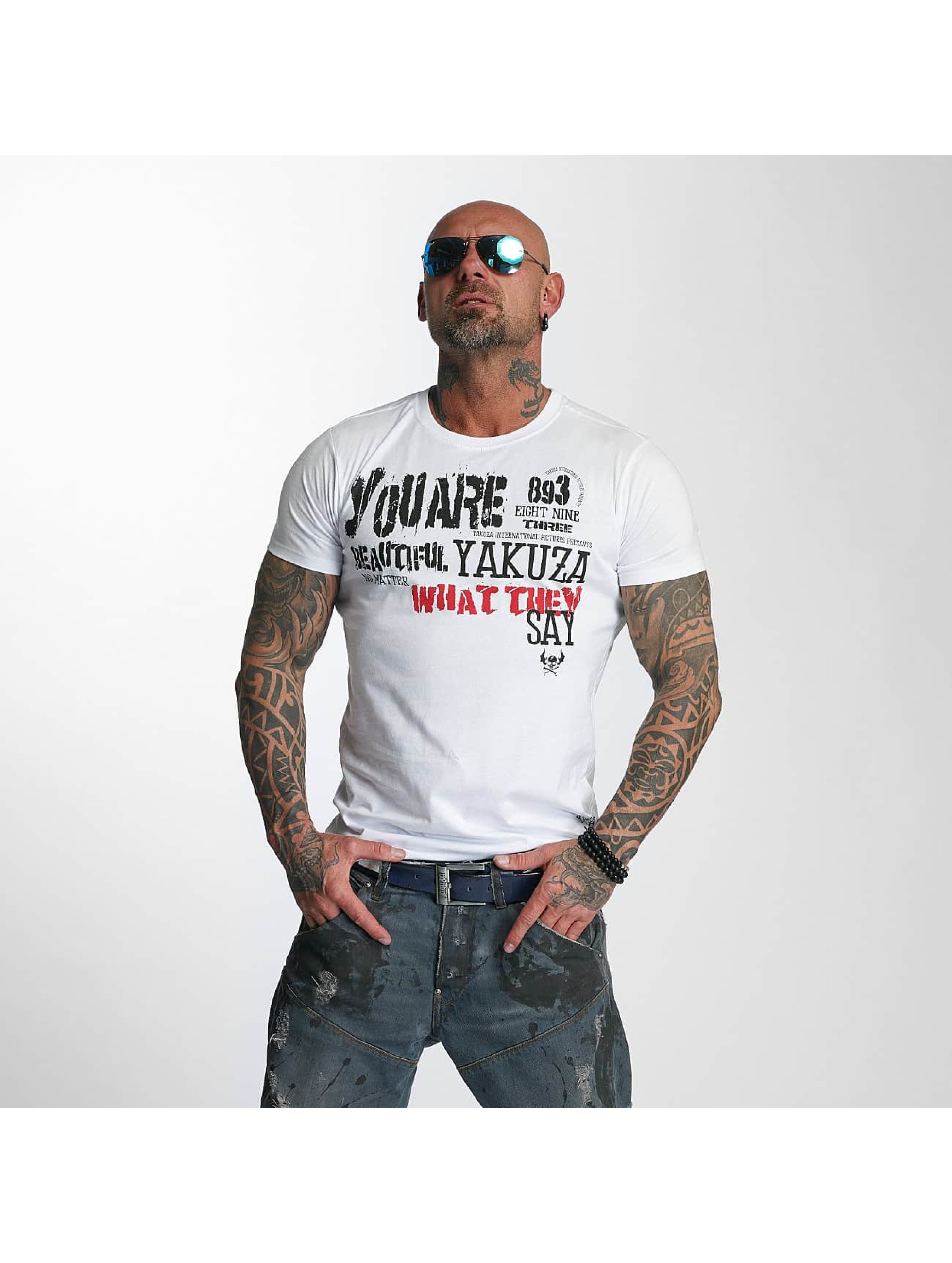 Yakuza T-Shirt U R Beautiful white
