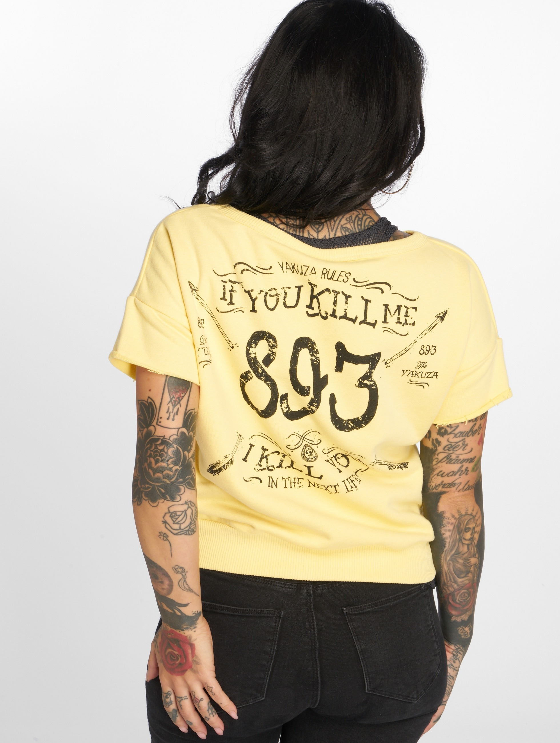 Yakuza T-Shirt Kill Me 2 yellow