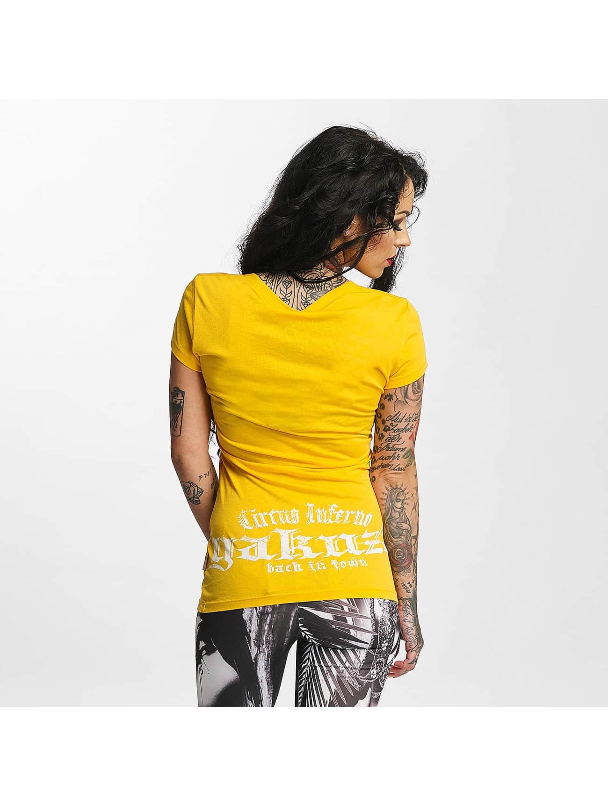Yakuza T-Shirt Circus Inferno yellow