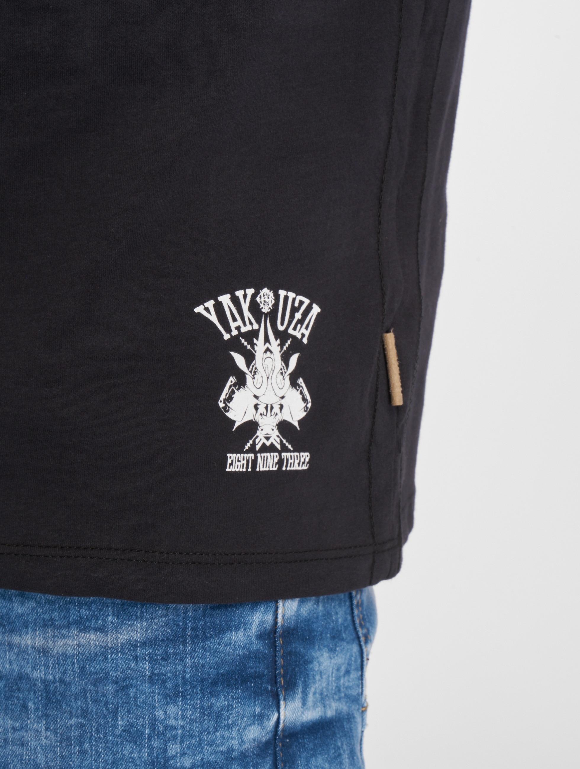 Yakuza t-shirt OK! zwart