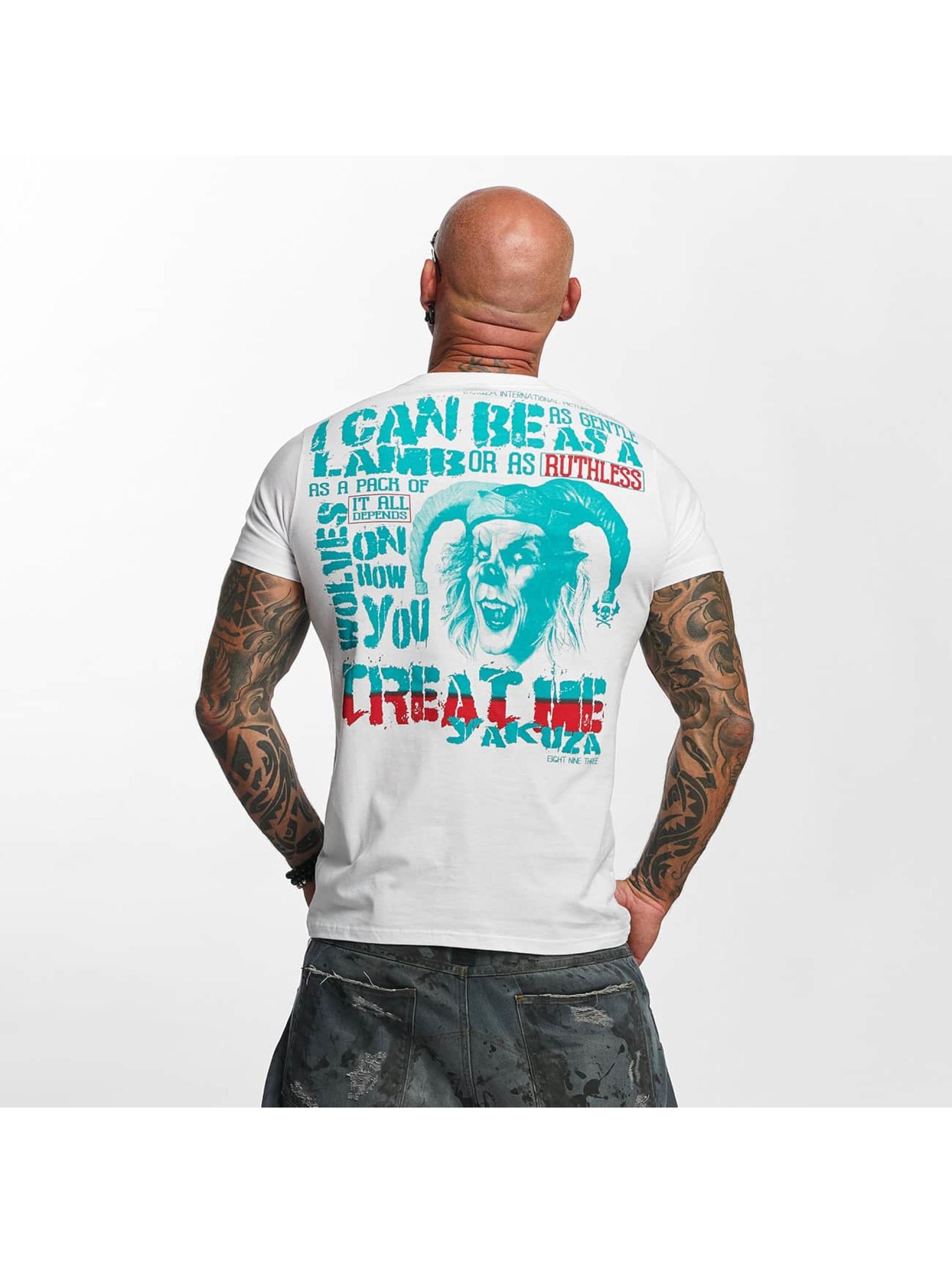 Yakuza T-Shirty Treat Me bialy