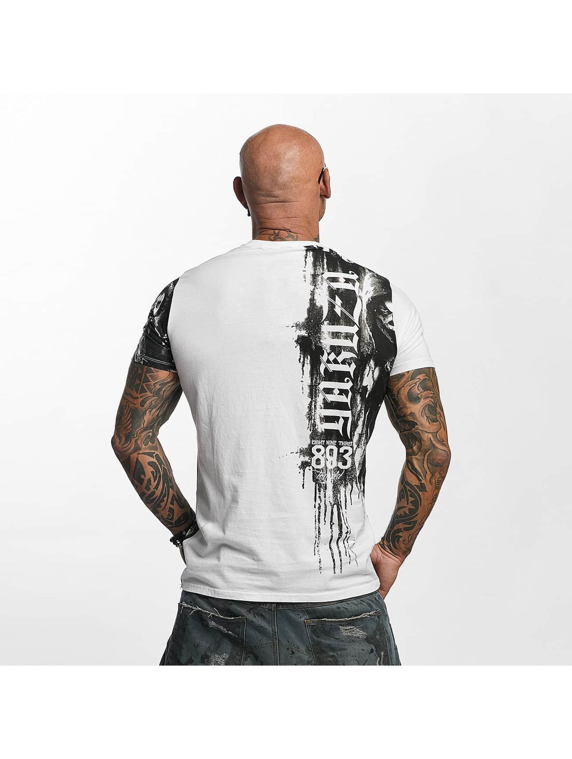 Yakuza T-Shirty Waiting Death bialy
