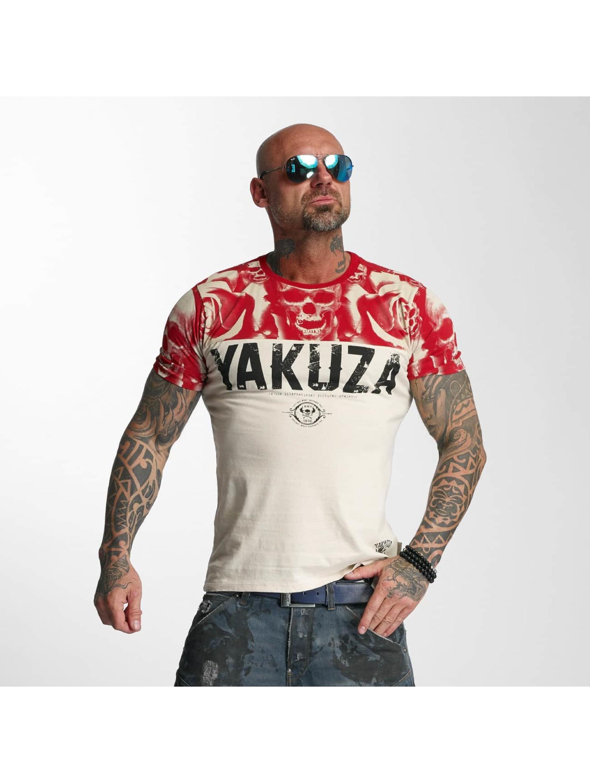 Yakuza T-Shirty SICK n FxCK bialy