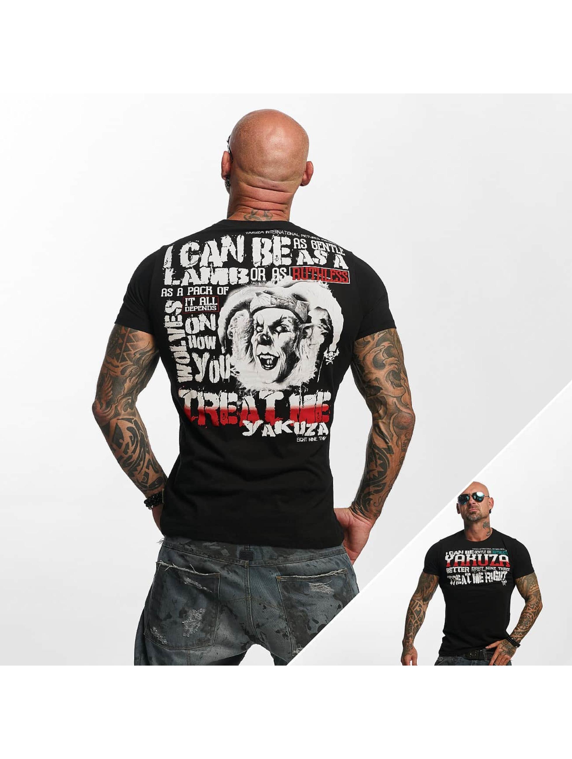 Yakuza T-Shirty Treat Me czarny