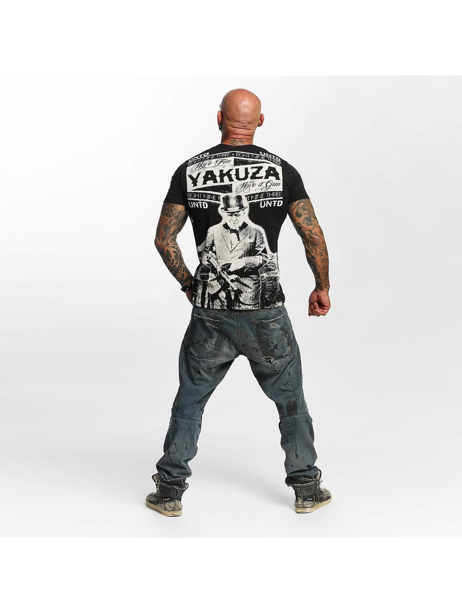 Yakuza T-Shirty Untd czarny