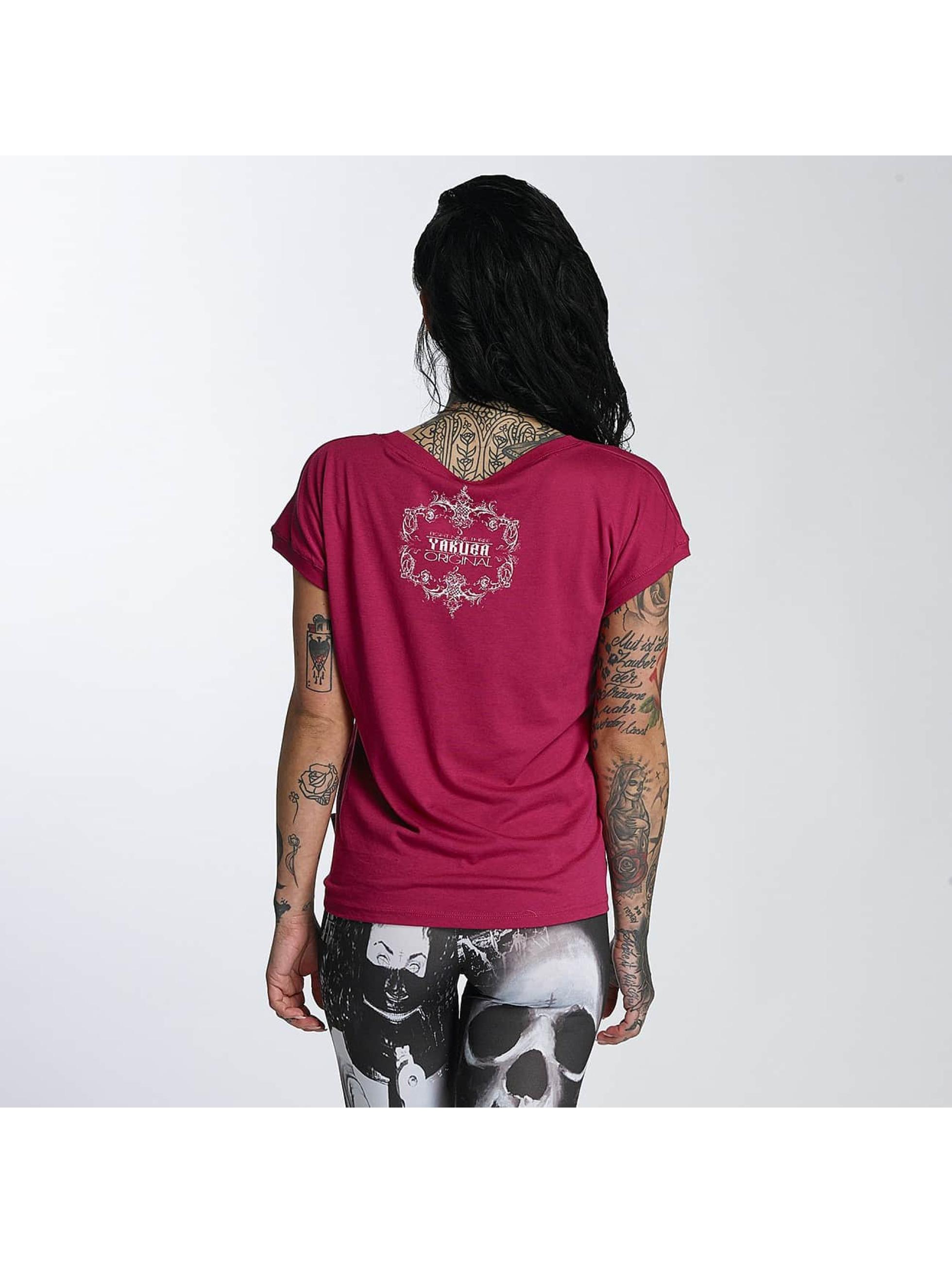 Yakuza T-Shirty Siren Knot czerwony