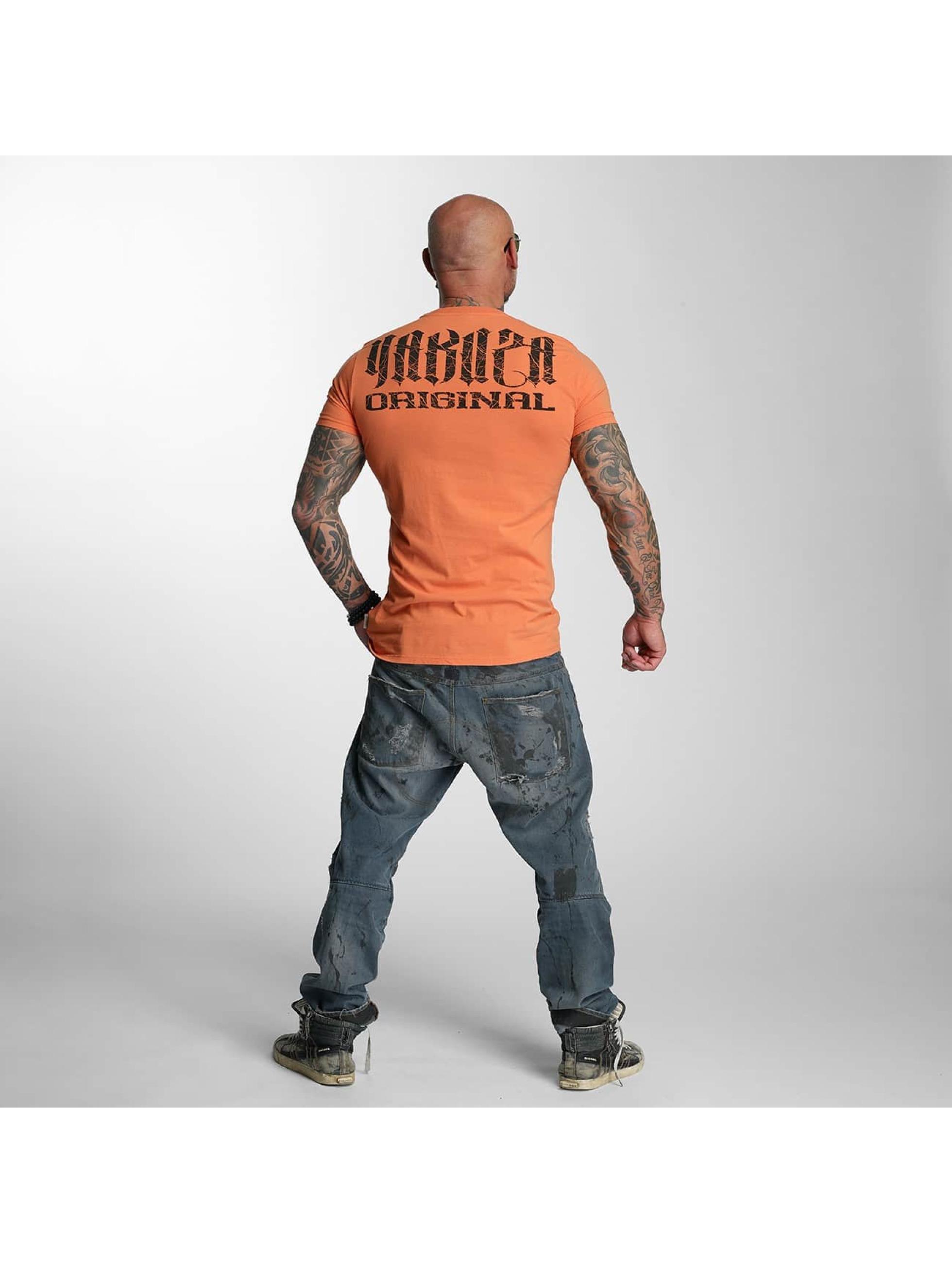 Yakuza T-Shirty Blow It Out pomaranczowy